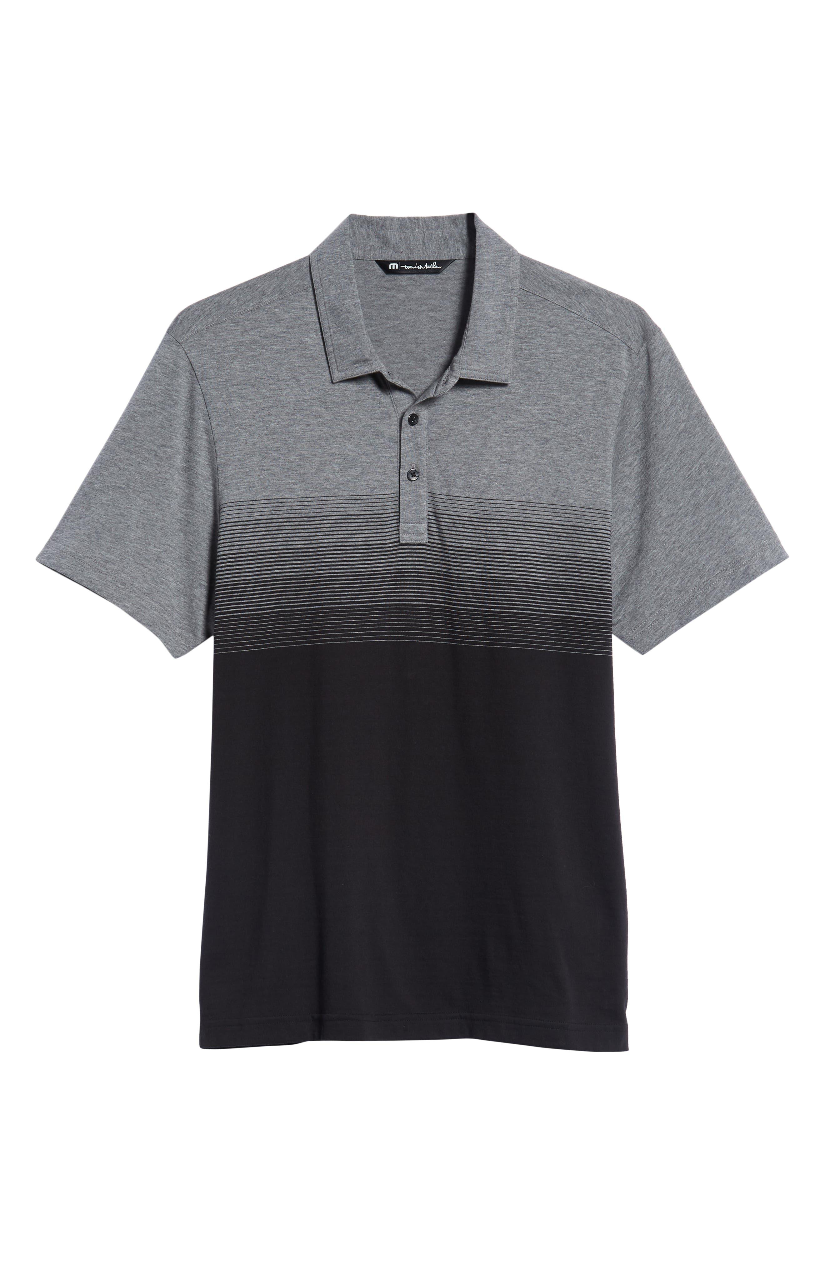 Smoothie Machine Short Sleeve Regular Fit Polo Shirt,                             Alternate thumbnail 6, color,                             BLACK