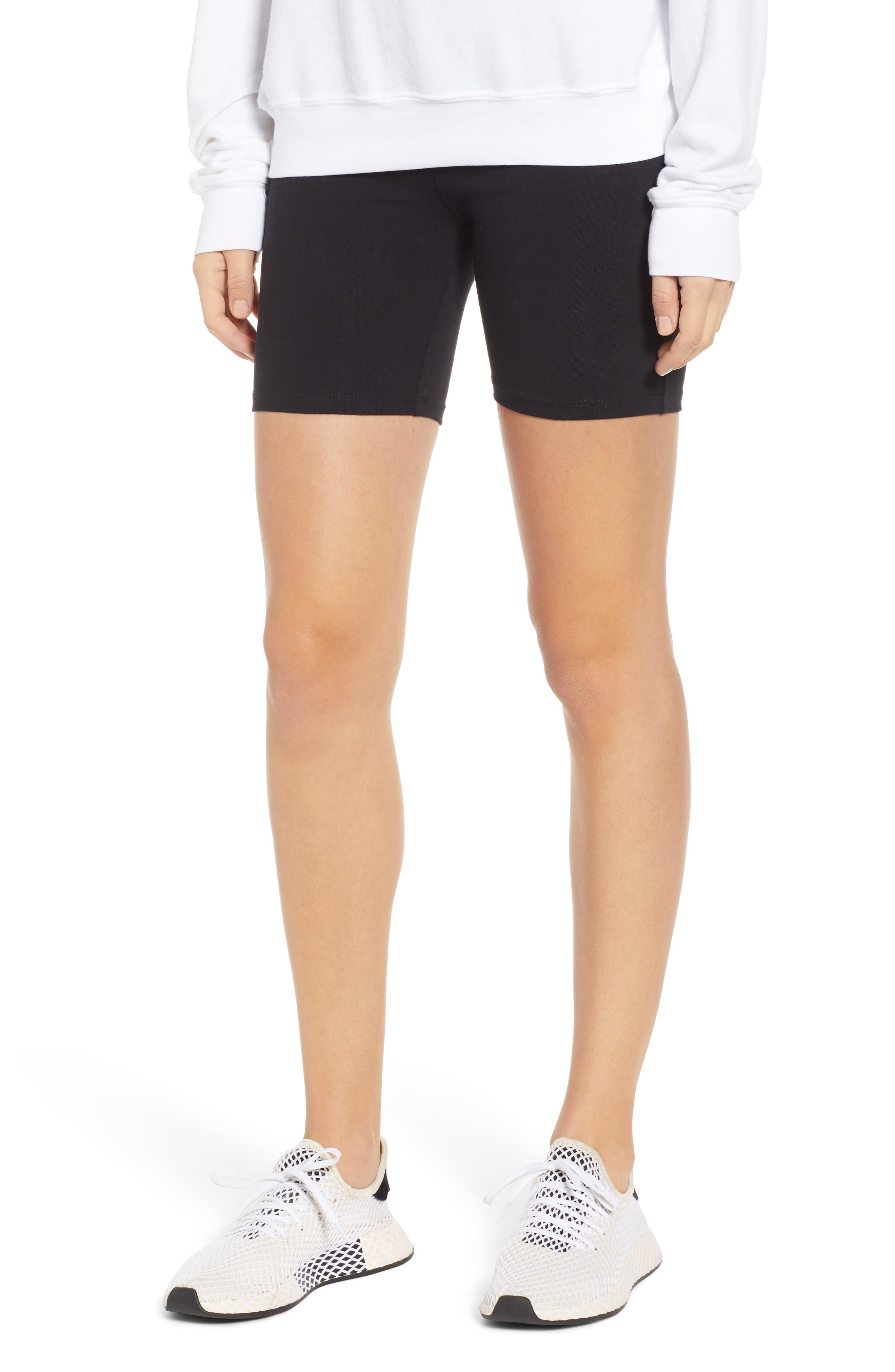 Bike Shorts,                             Main thumbnail 1, color,                             BLACK