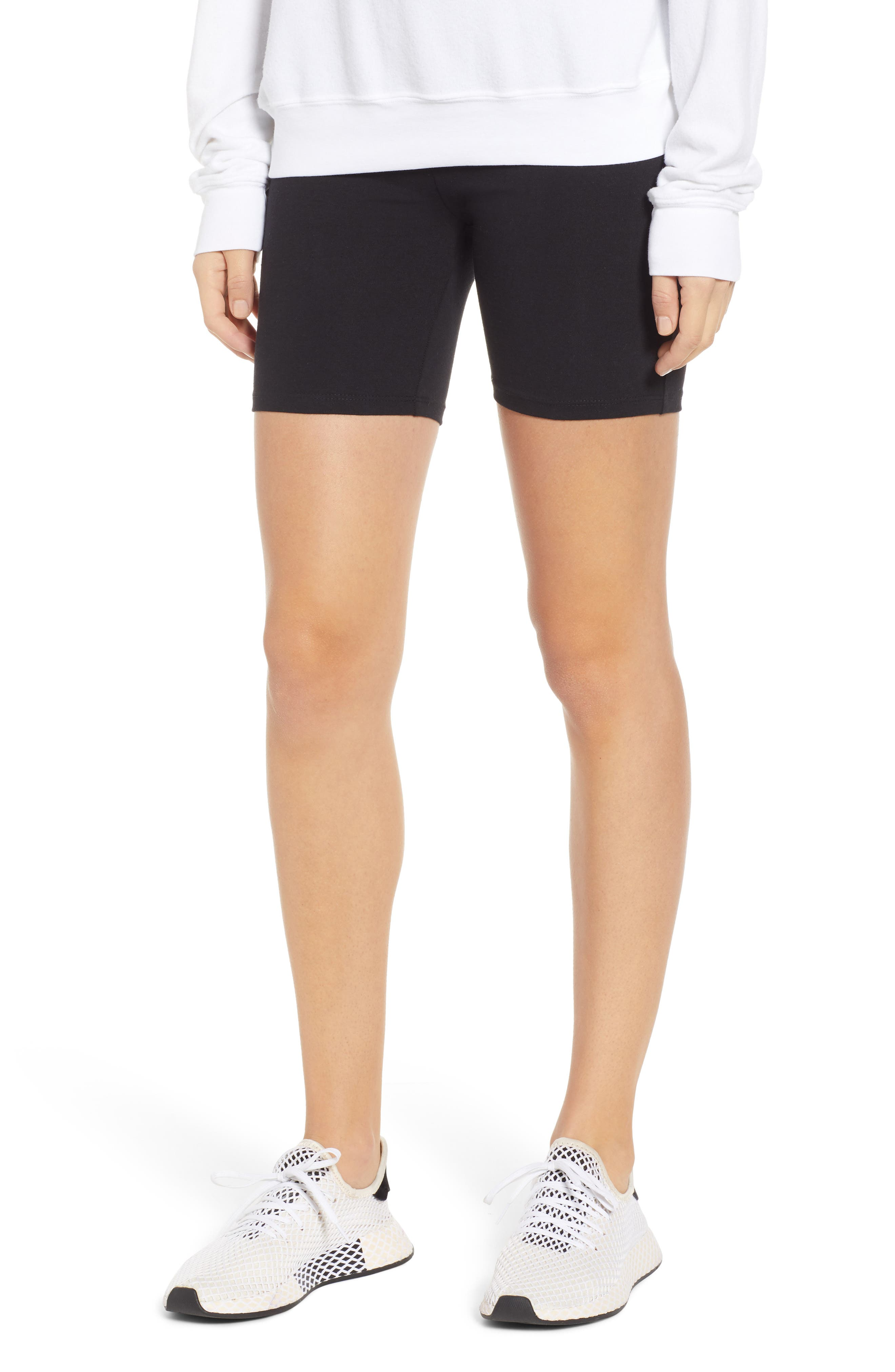 Bike Shorts,                         Main,                         color, BLACK
