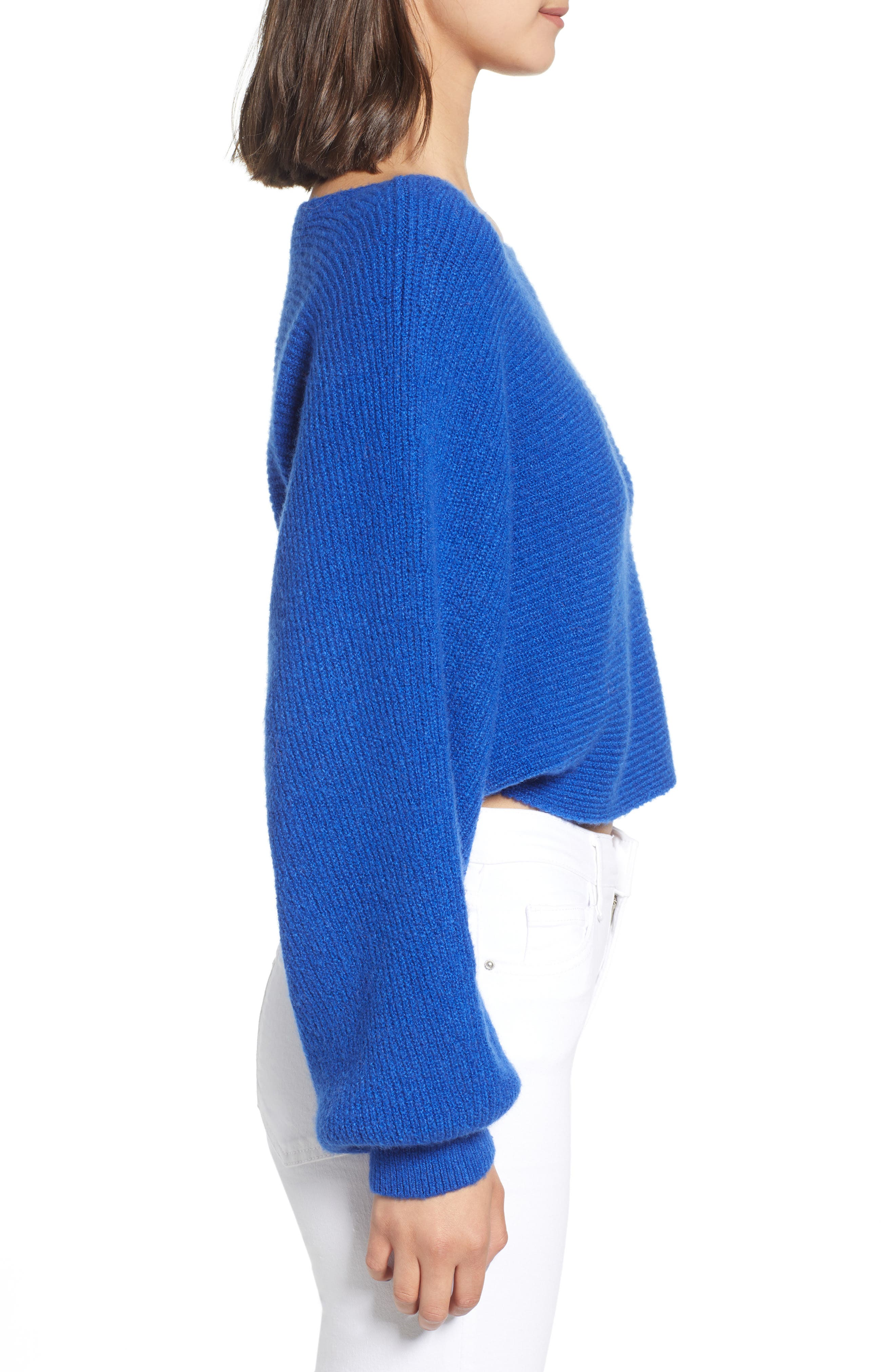 Crop Dolman Pullover,                             Alternate thumbnail 3, color,                             401