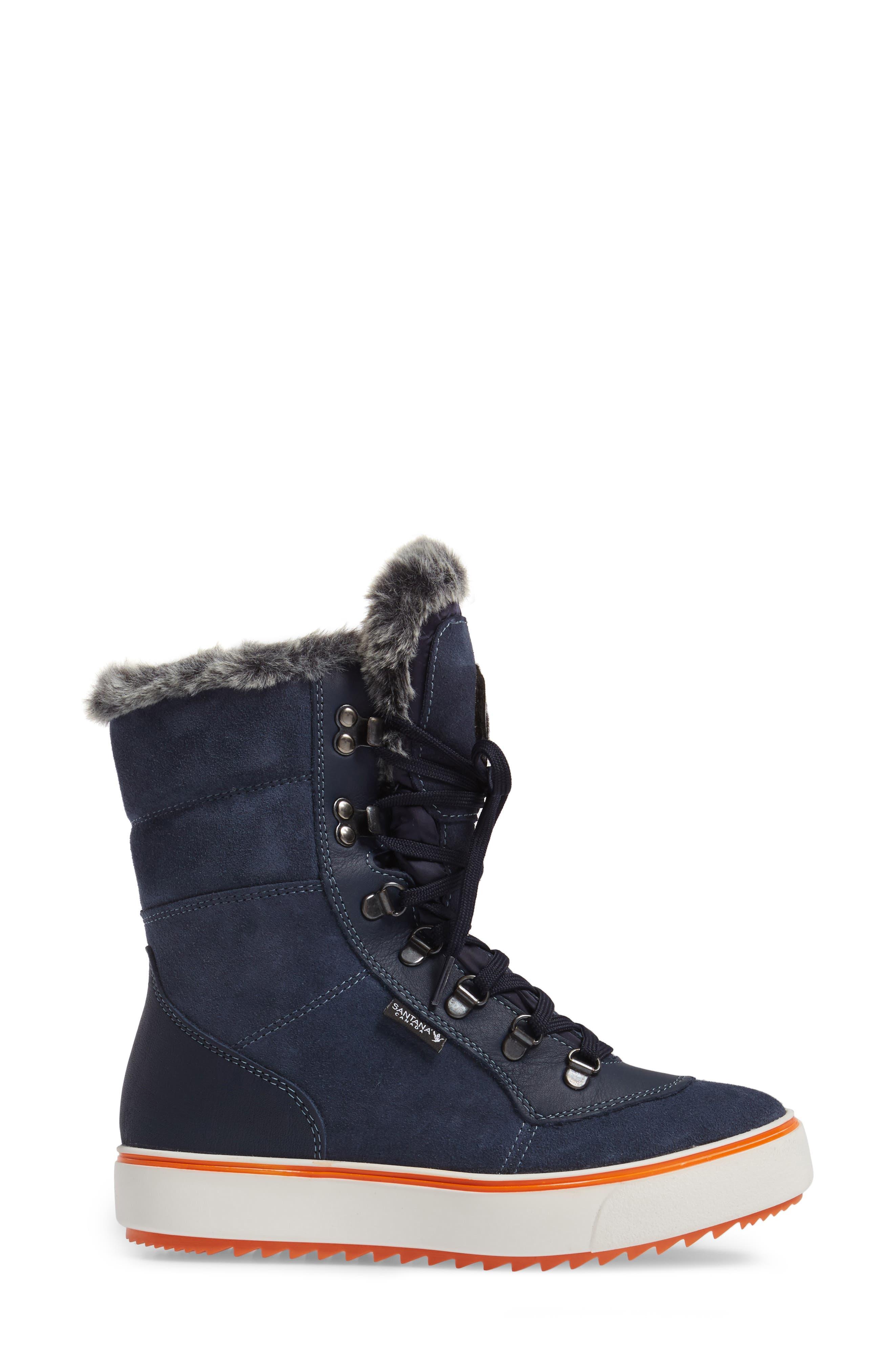 Mixx Faux Fur Waterproof Boot,                             Alternate thumbnail 3, color,                             410