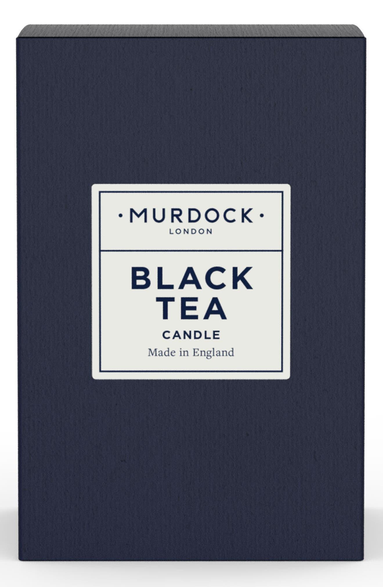Black Tea Candle,                             Main thumbnail 1, color,                             NO COLOR