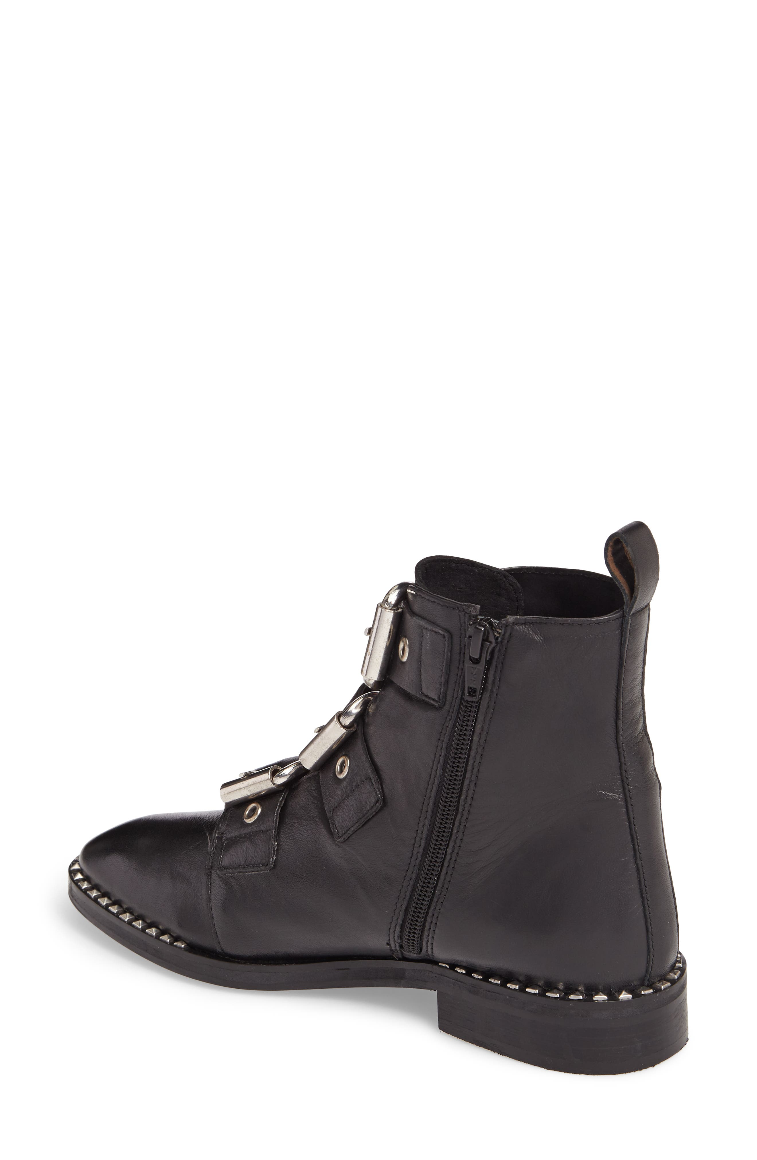 Alfie Buckle Ankle Boot,                             Alternate thumbnail 2, color,                             001