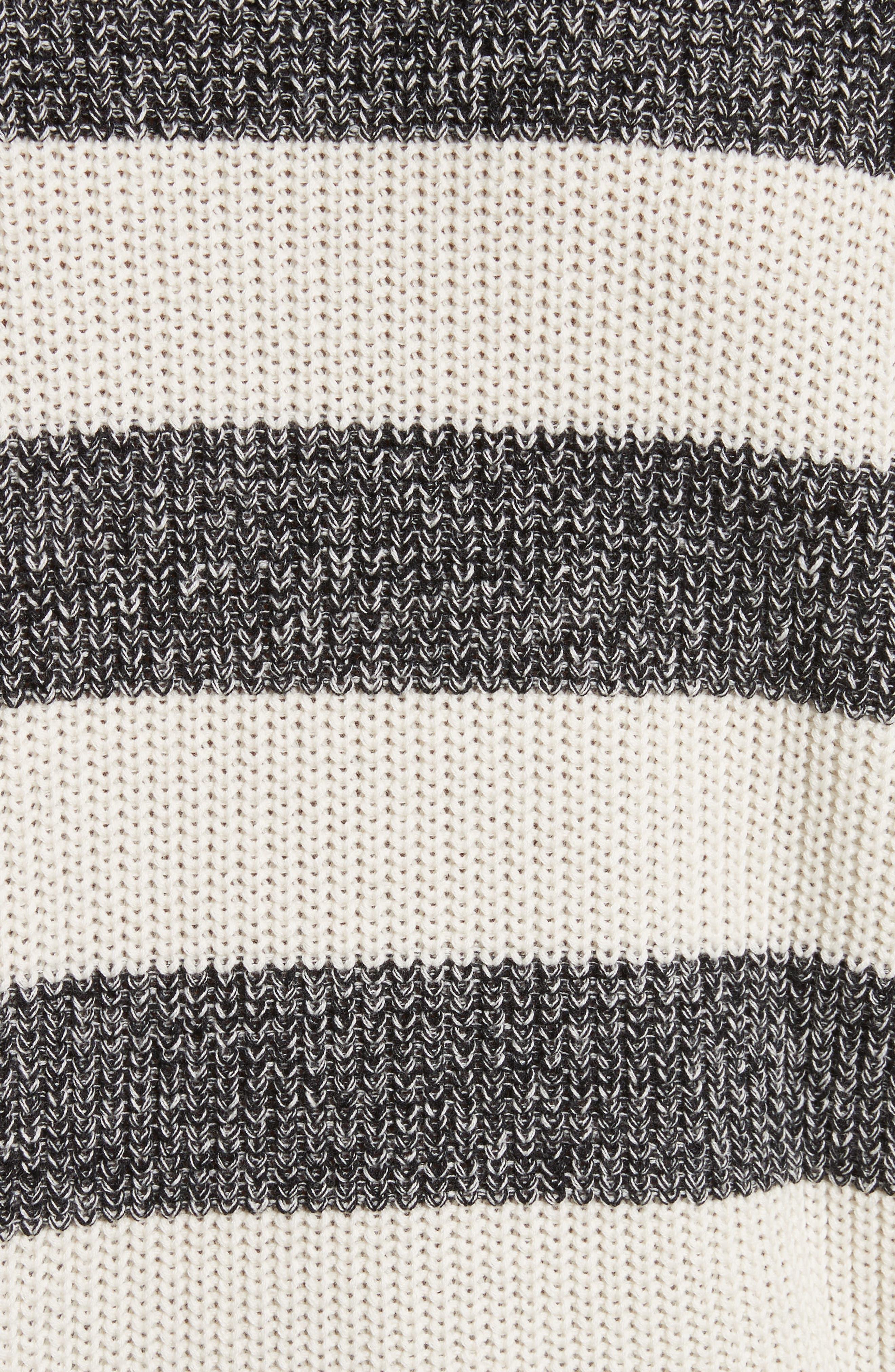 Lee Stripe Crewneck Sweater,                             Alternate thumbnail 5, color,                             101