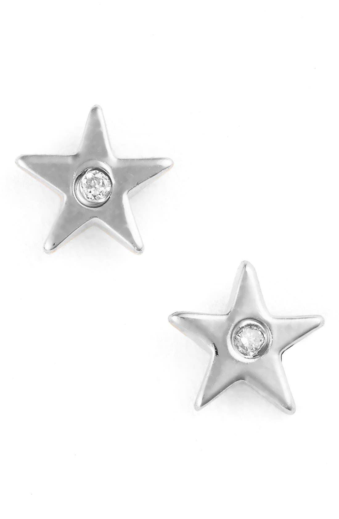 Star Stud Earrings,                         Main,                         color,