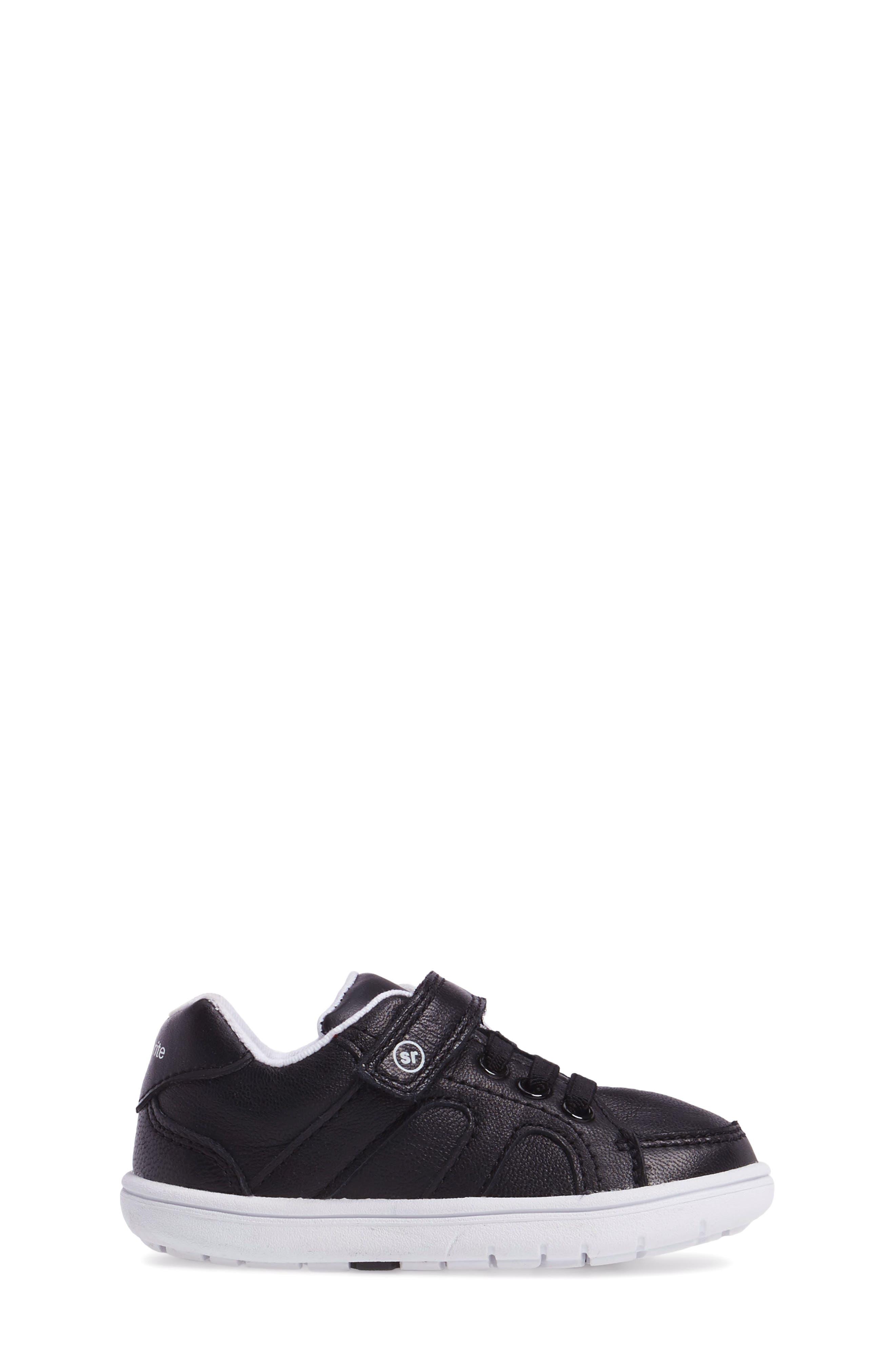 SRT Noe Sneaker,                             Alternate thumbnail 3, color,                             BLACK