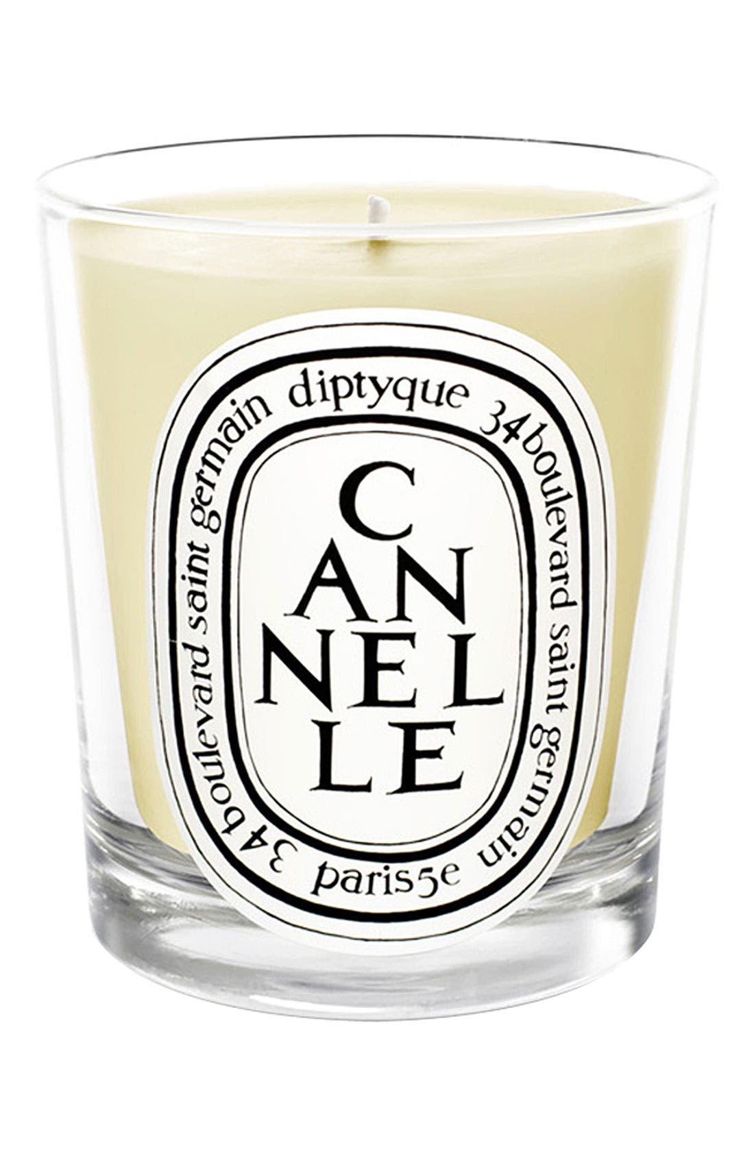 'Cannelle' Scented Candle,                             Main thumbnail 1, color,                             000