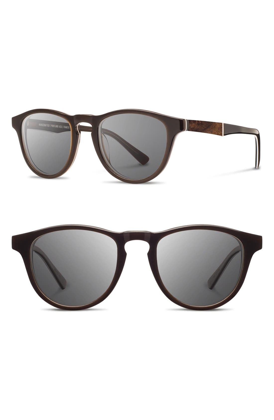'Francis' 49mm Polarized Sunglasses,                             Main thumbnail 7, color,