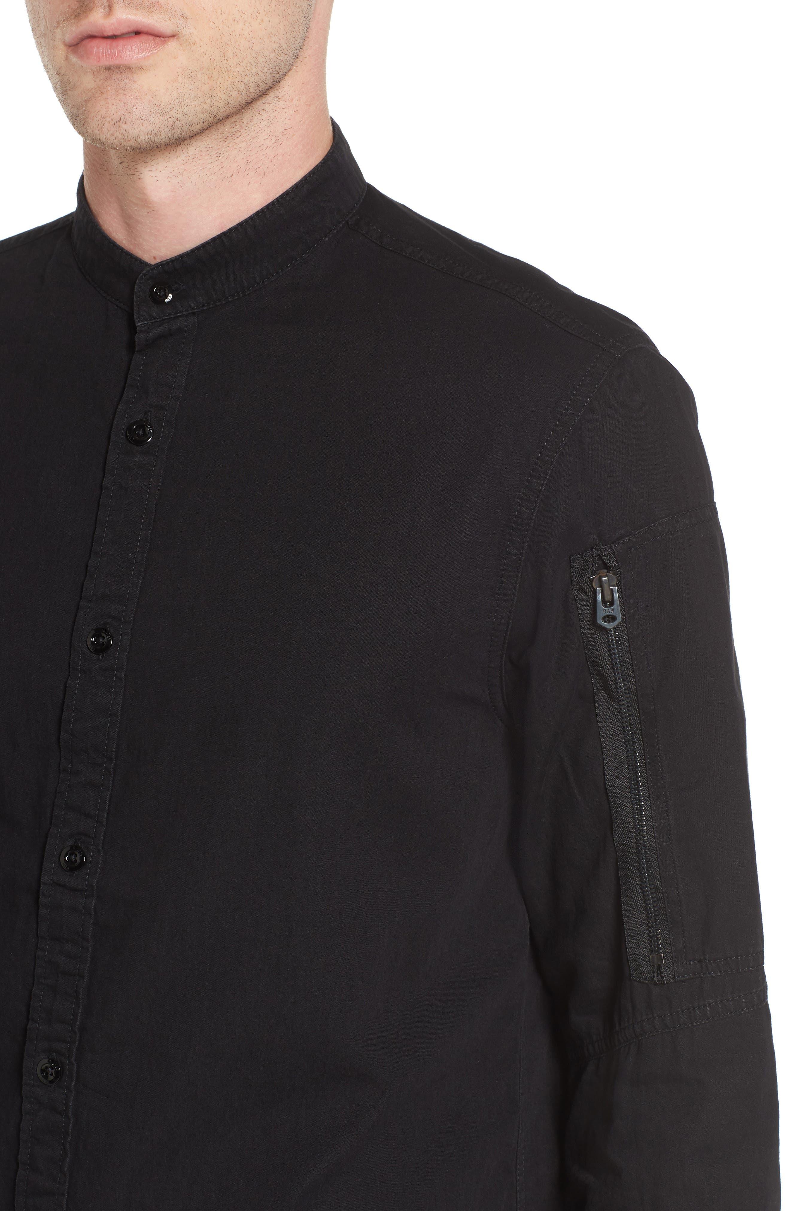 Stalt C-Less Shirt,                             Alternate thumbnail 4, color,                             001