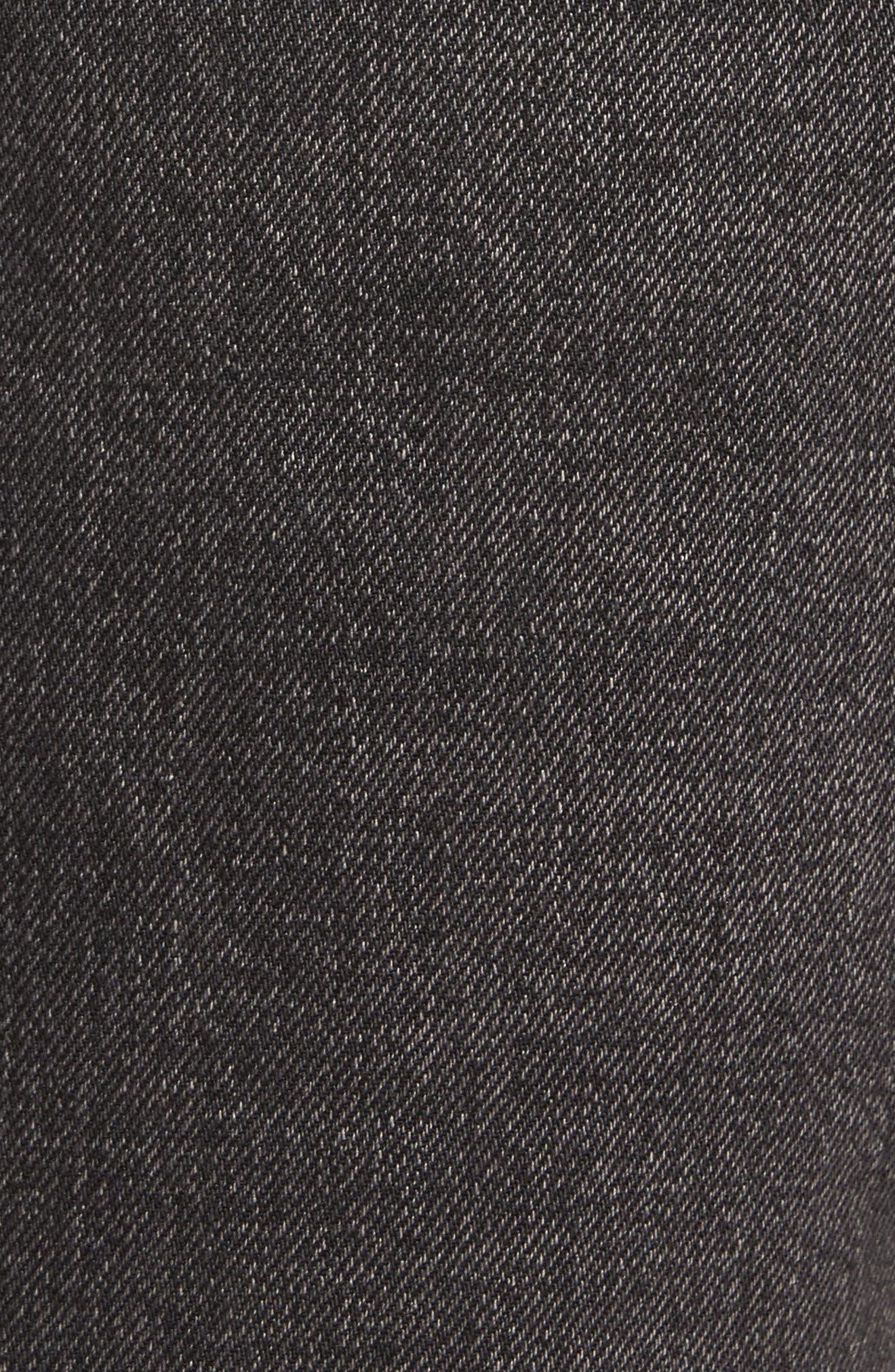 501<sup>™</sup> Straight Leg Jeans,                             Alternate thumbnail 5, color,                             001
