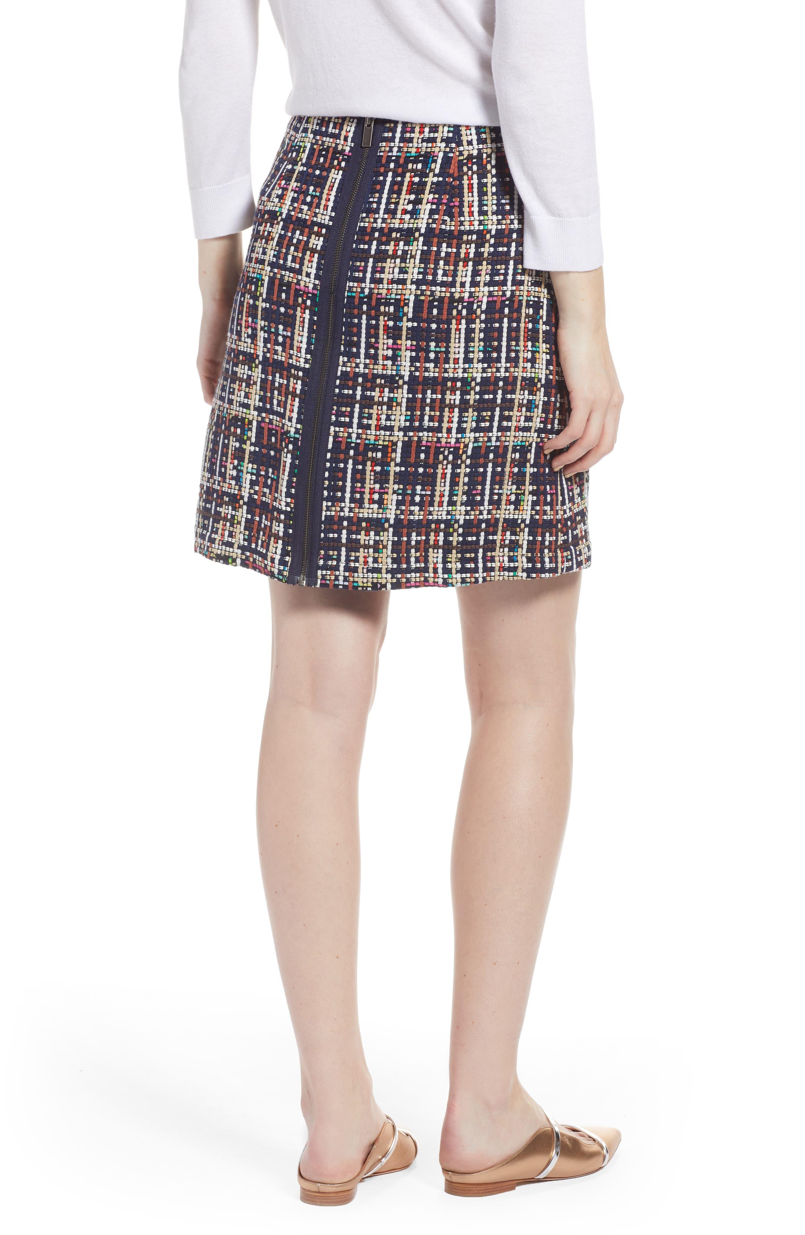 Tweed Mini Skirt,                             Alternate thumbnail 2, color,