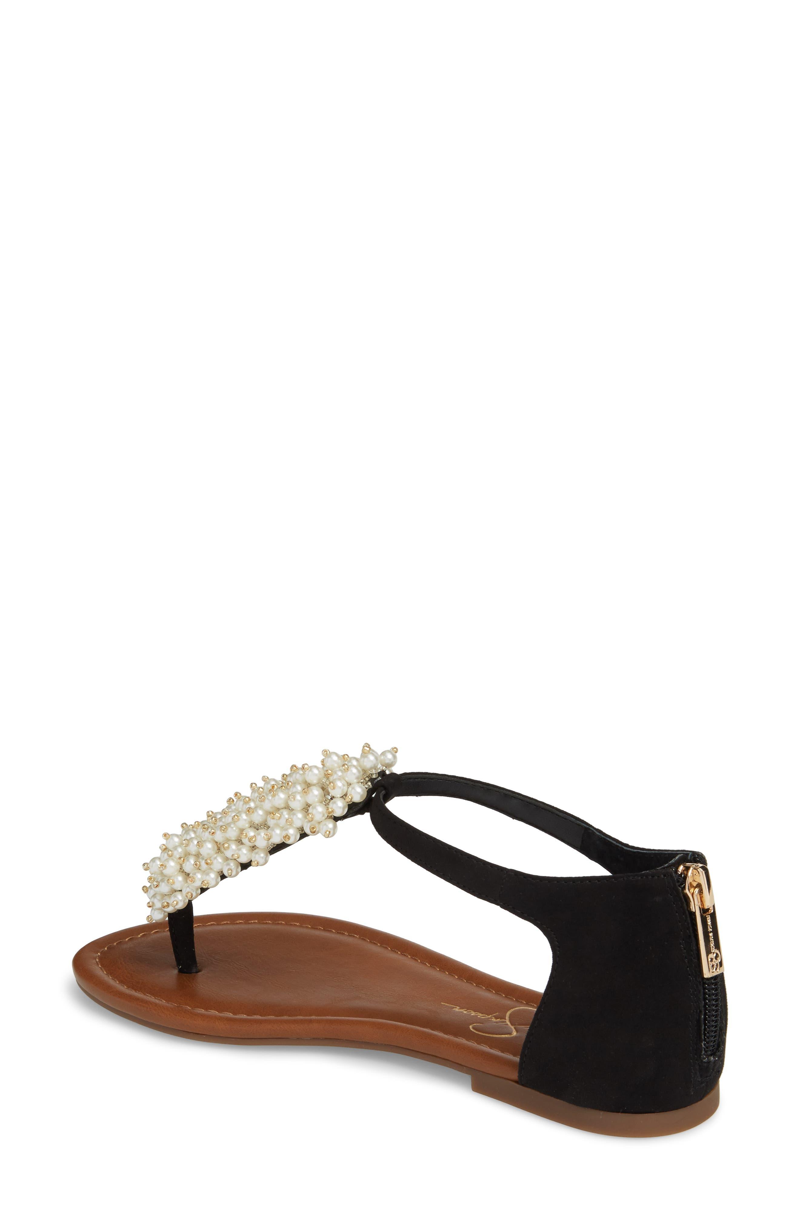 Kenton Crystal Embellished Sandal,                             Alternate thumbnail 2, color,                             001