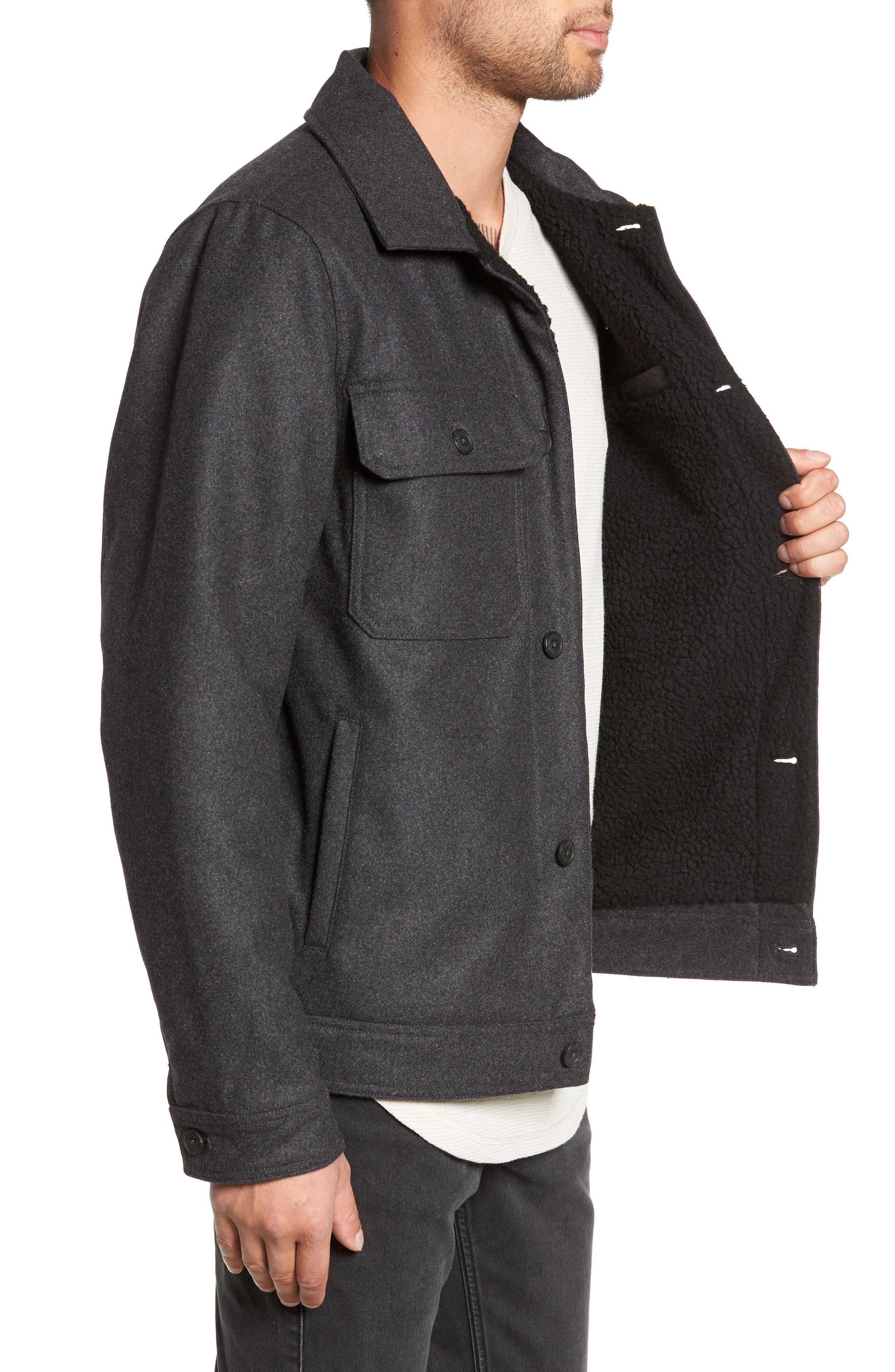 Rossmore Jacket,                             Alternate thumbnail 3, color,                             ASPHALT