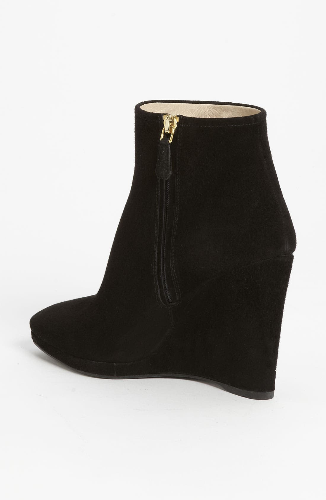 Wedge Ankle Boot,                             Alternate thumbnail 2, color,                             001