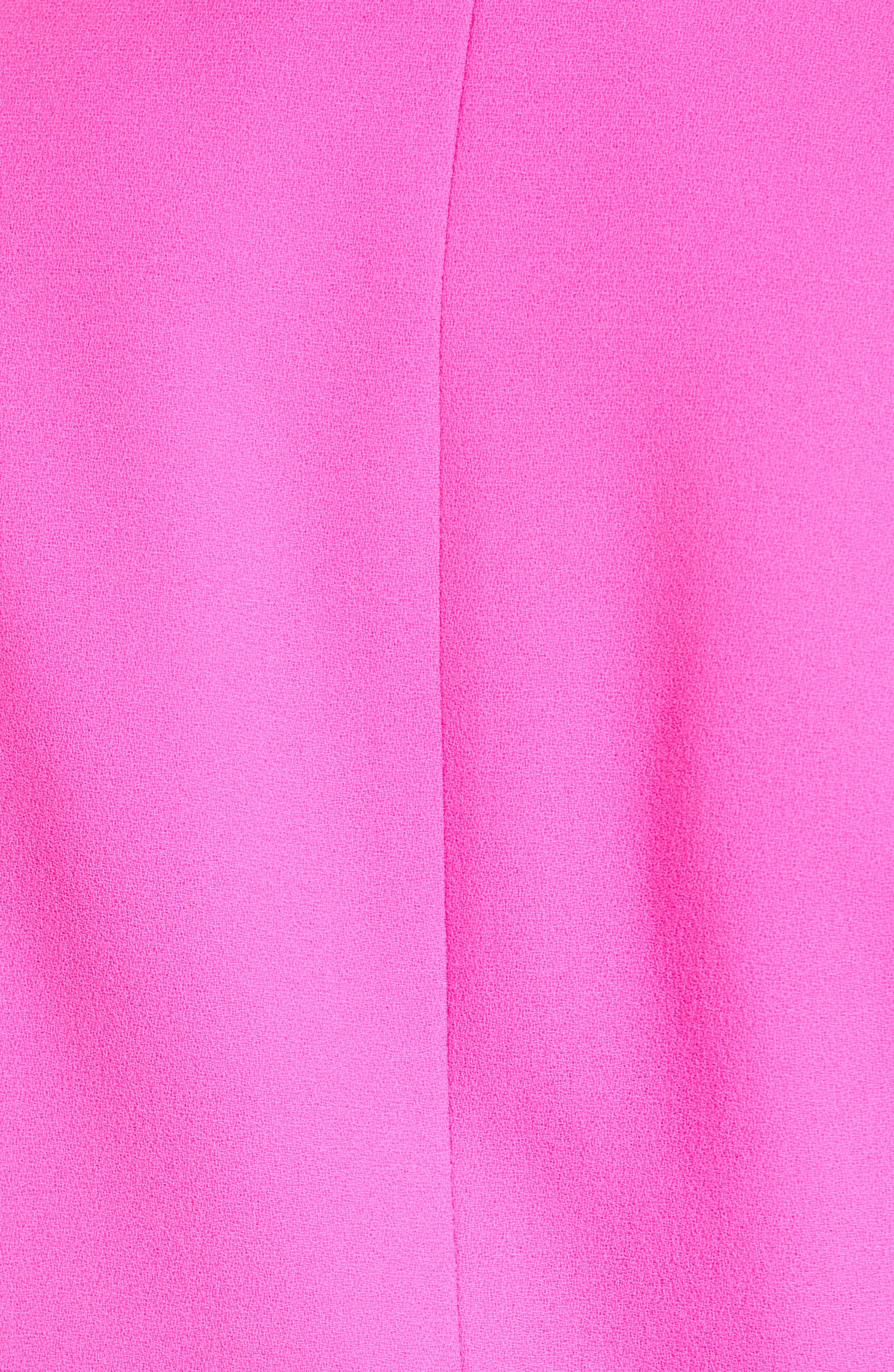 Wool Blazer,                             Alternate thumbnail 6, color,                             NEON PINK