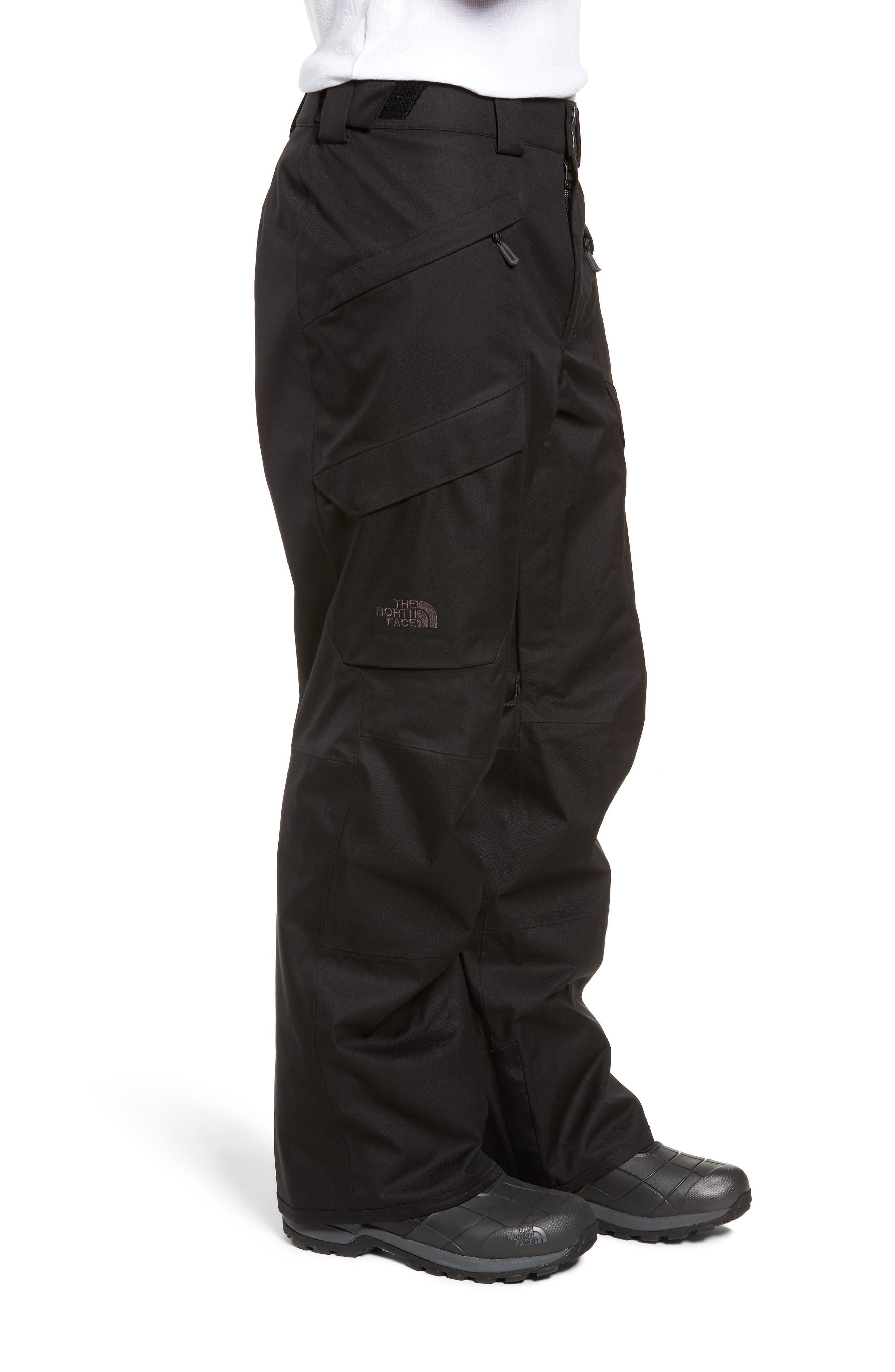 Gatekeeper Waterproof Pants,                             Alternate thumbnail 3, color,                             TNF BLACK/TNF BLACK