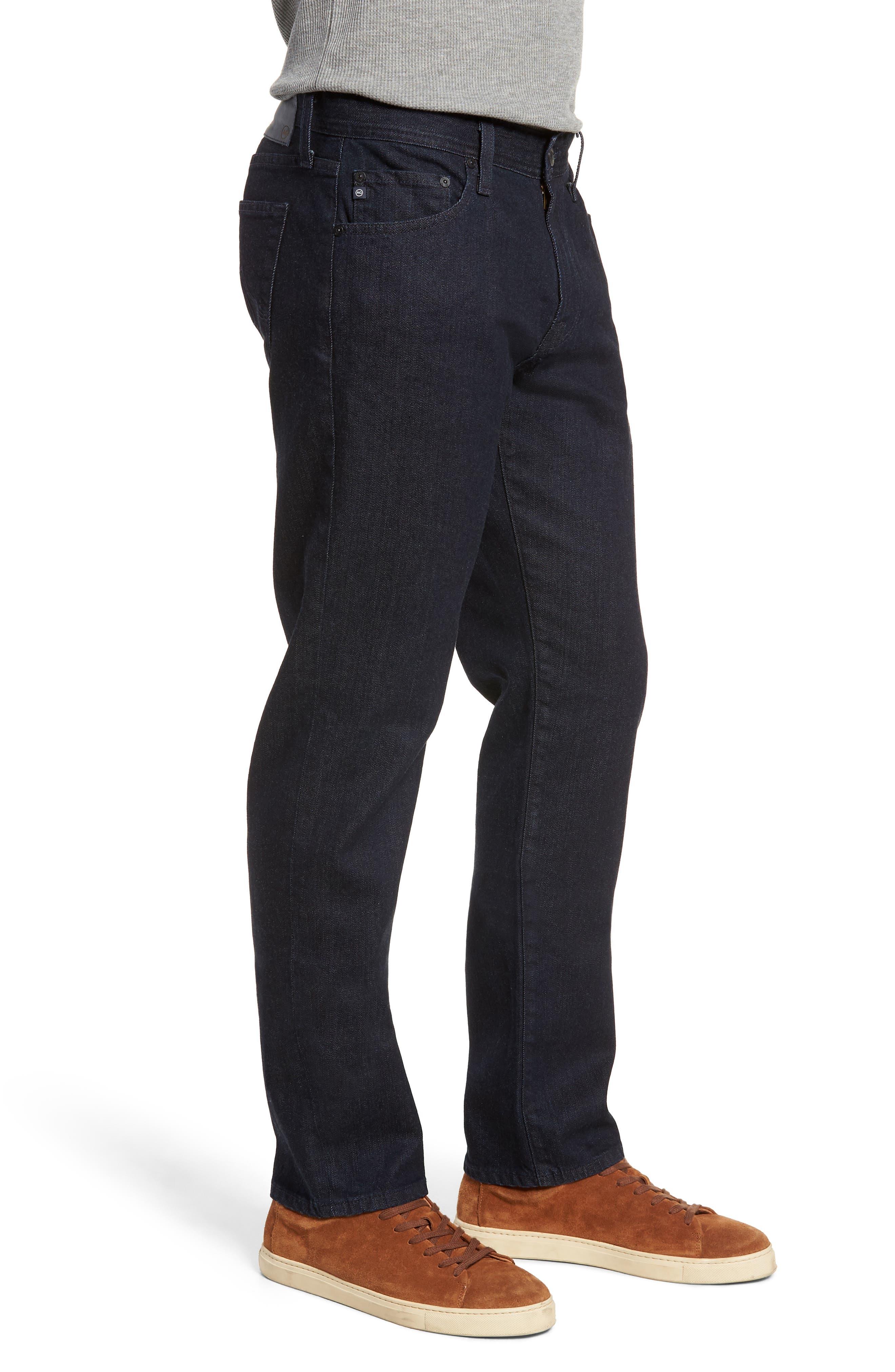 Graduate Slim Straight Leg Jeans,                             Alternate thumbnail 3, color,                             STELLAR