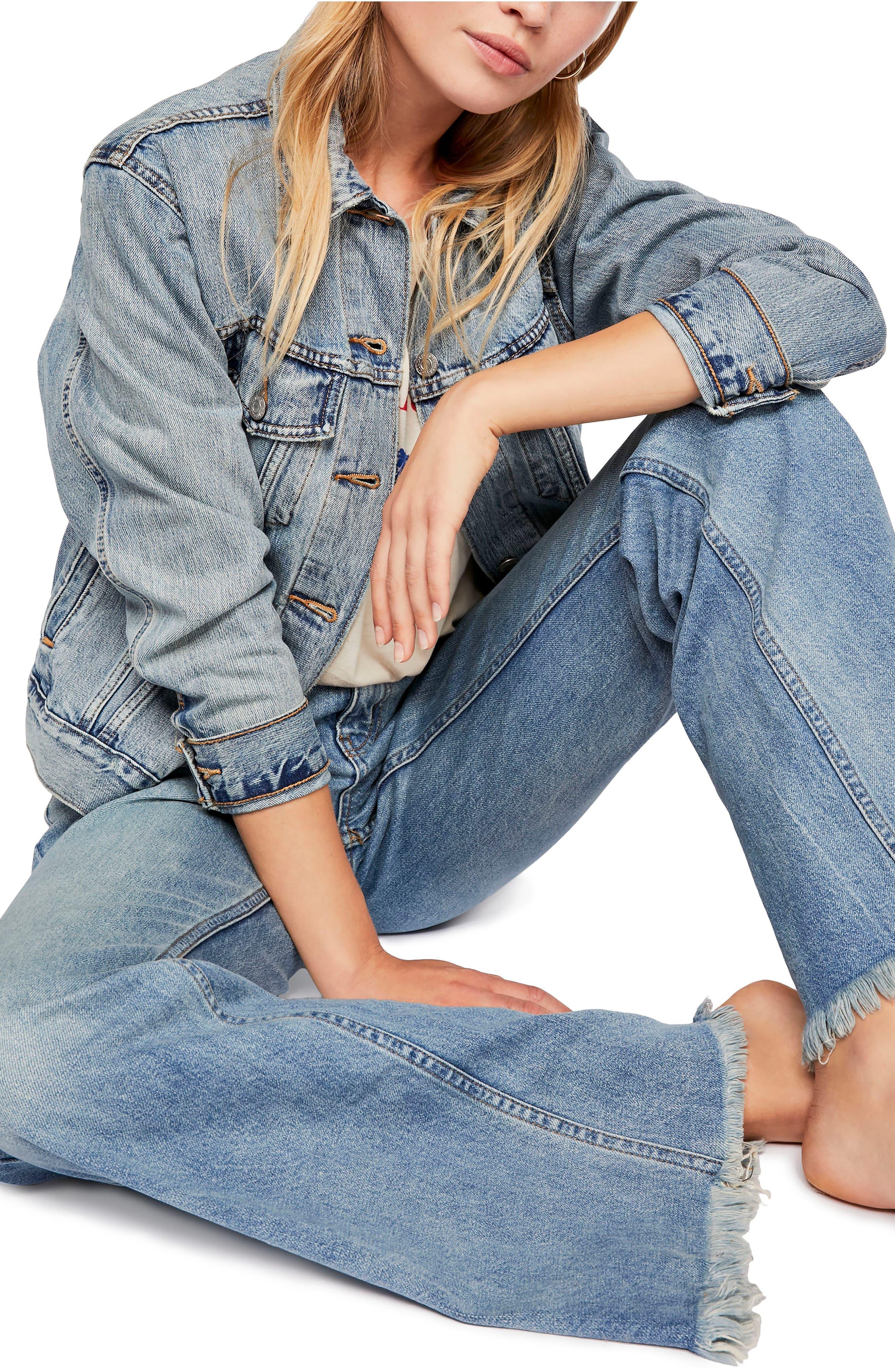 Vintage Flare Jeans,                             Alternate thumbnail 4, color,                             400