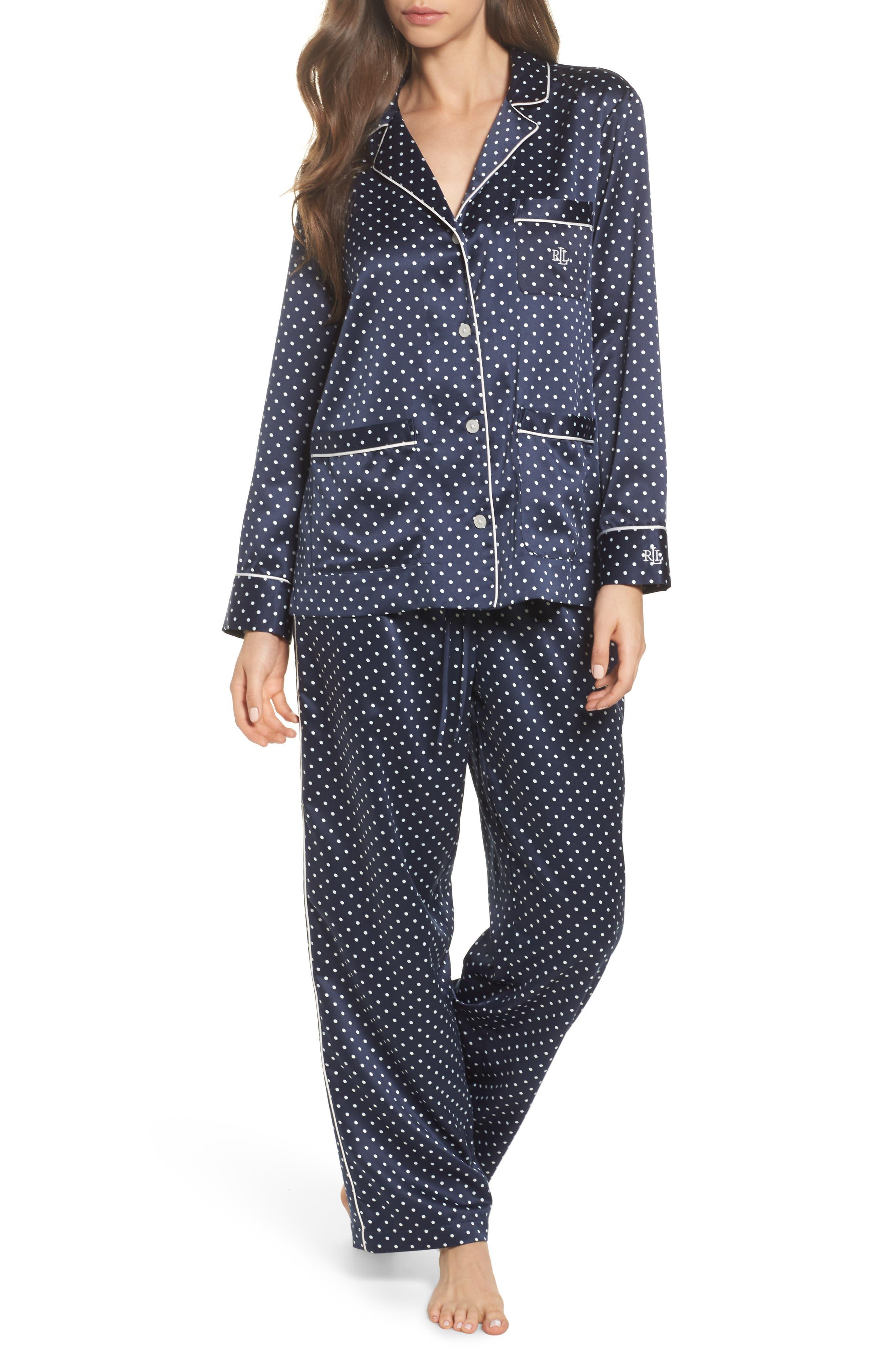 Satin Pajamas,                             Main thumbnail 1, color,