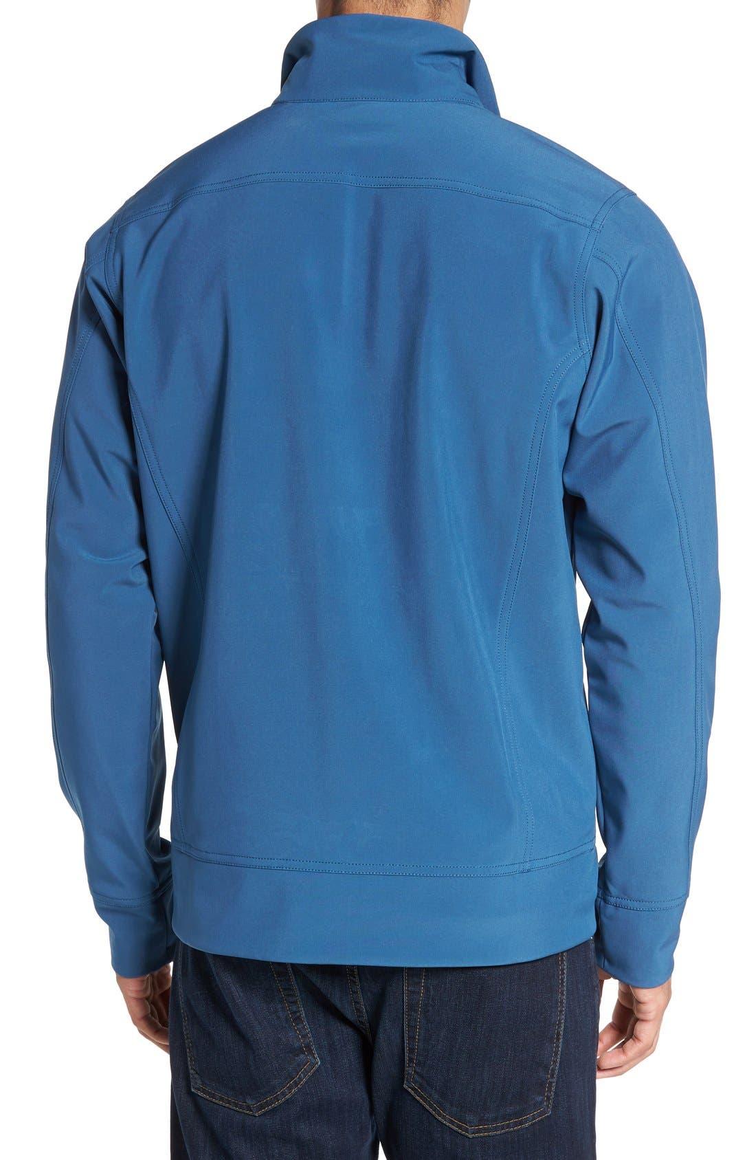 'Sidesend' Regular Fit Water Repellent Jacket,                             Alternate thumbnail 6, color,