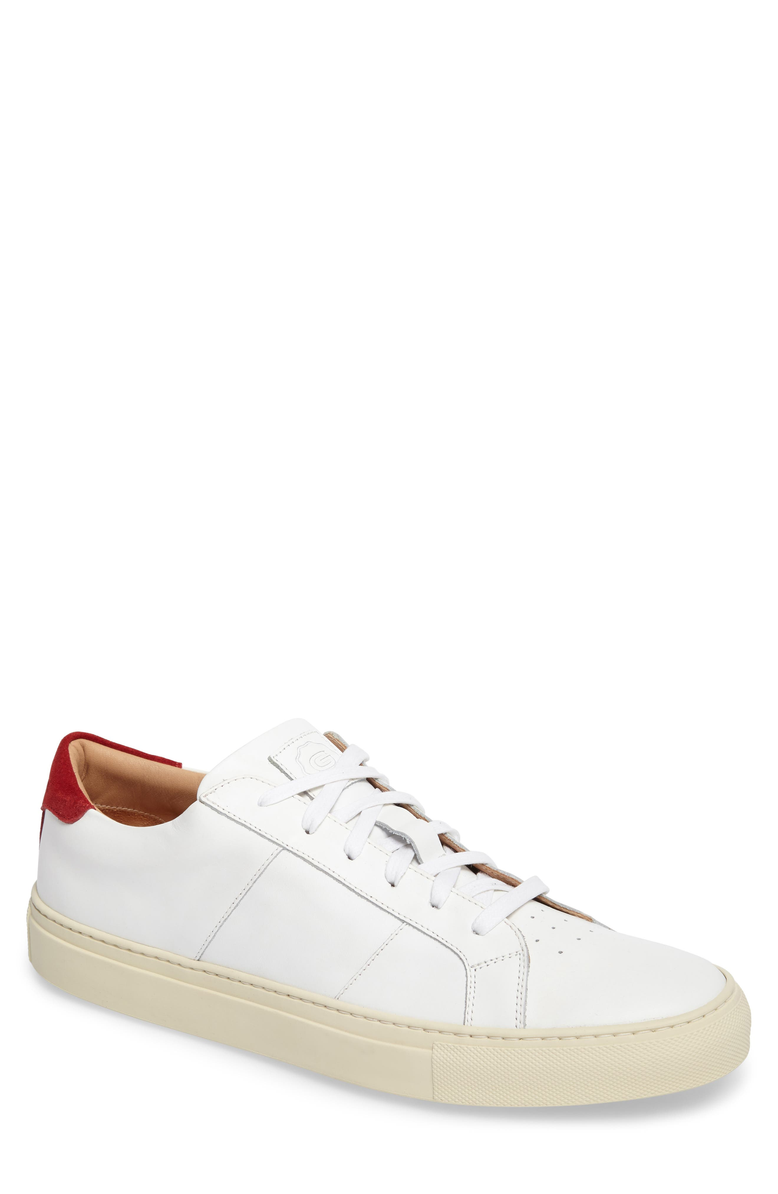 Greats Royale Vintage Low Top Sneaker- White