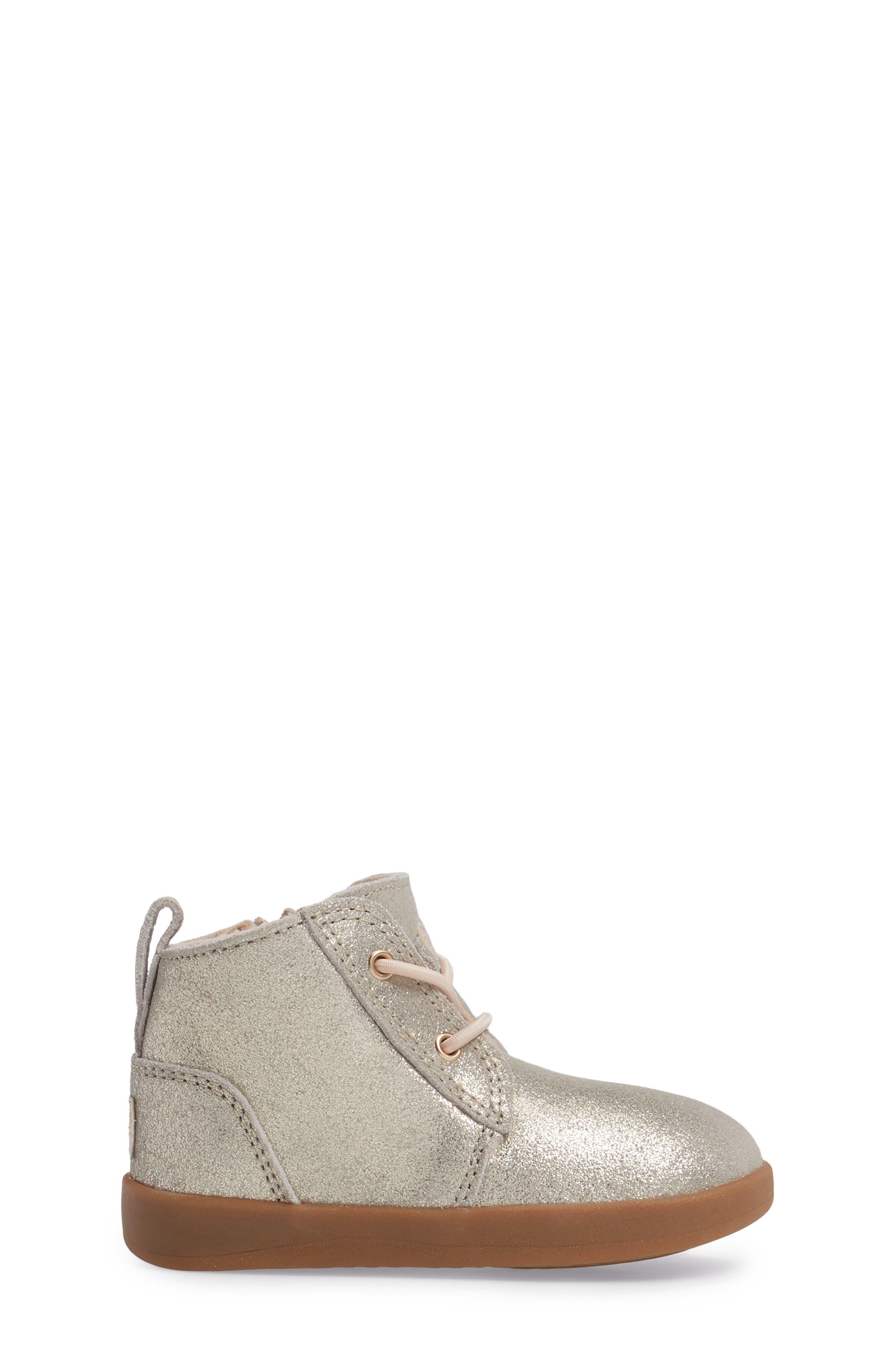 UGG<SUP>®</SUP>,                             Kristjan Metallic Sneaker Boot,                             Alternate thumbnail 3, color,                             710