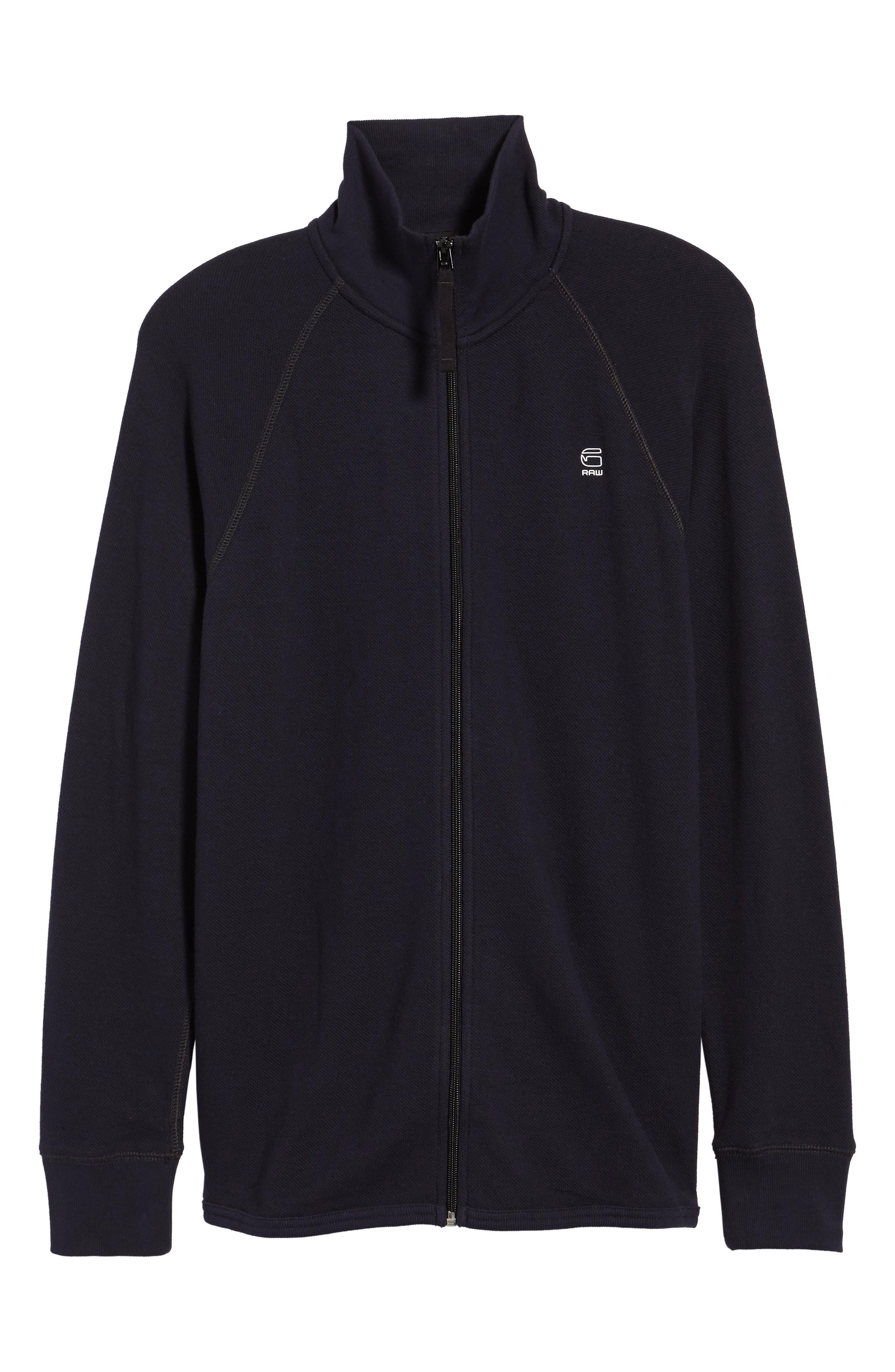 Jirgi Front Zip Sweater,                             Alternate thumbnail 6, color,                             400