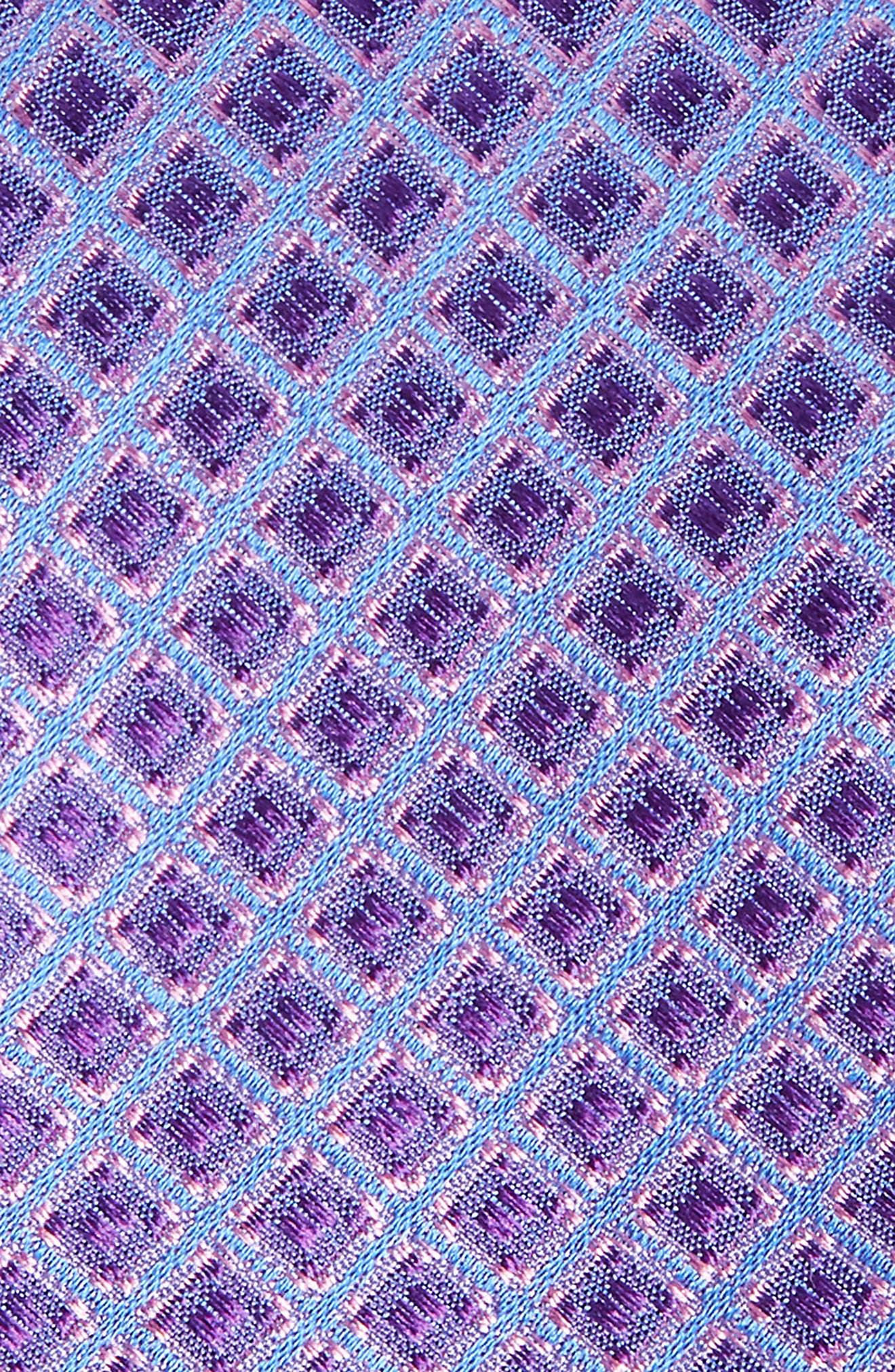 Denberg Check Silk Tie,                             Alternate thumbnail 7, color,