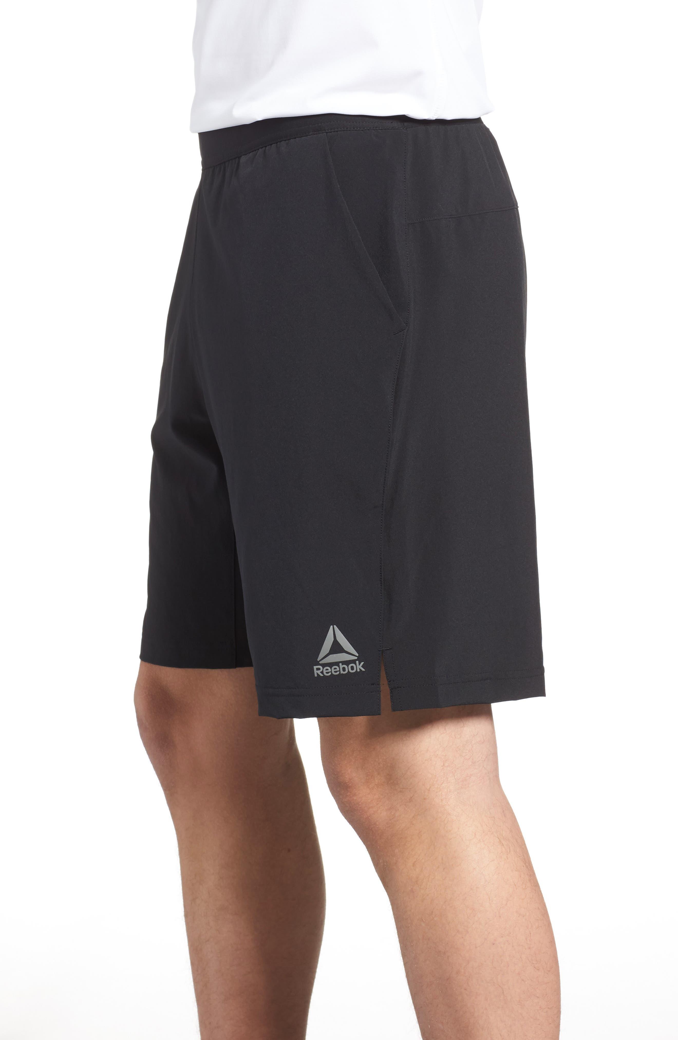 Speedwick Speed Training Shorts,                             Alternate thumbnail 3, color,                             BLACK