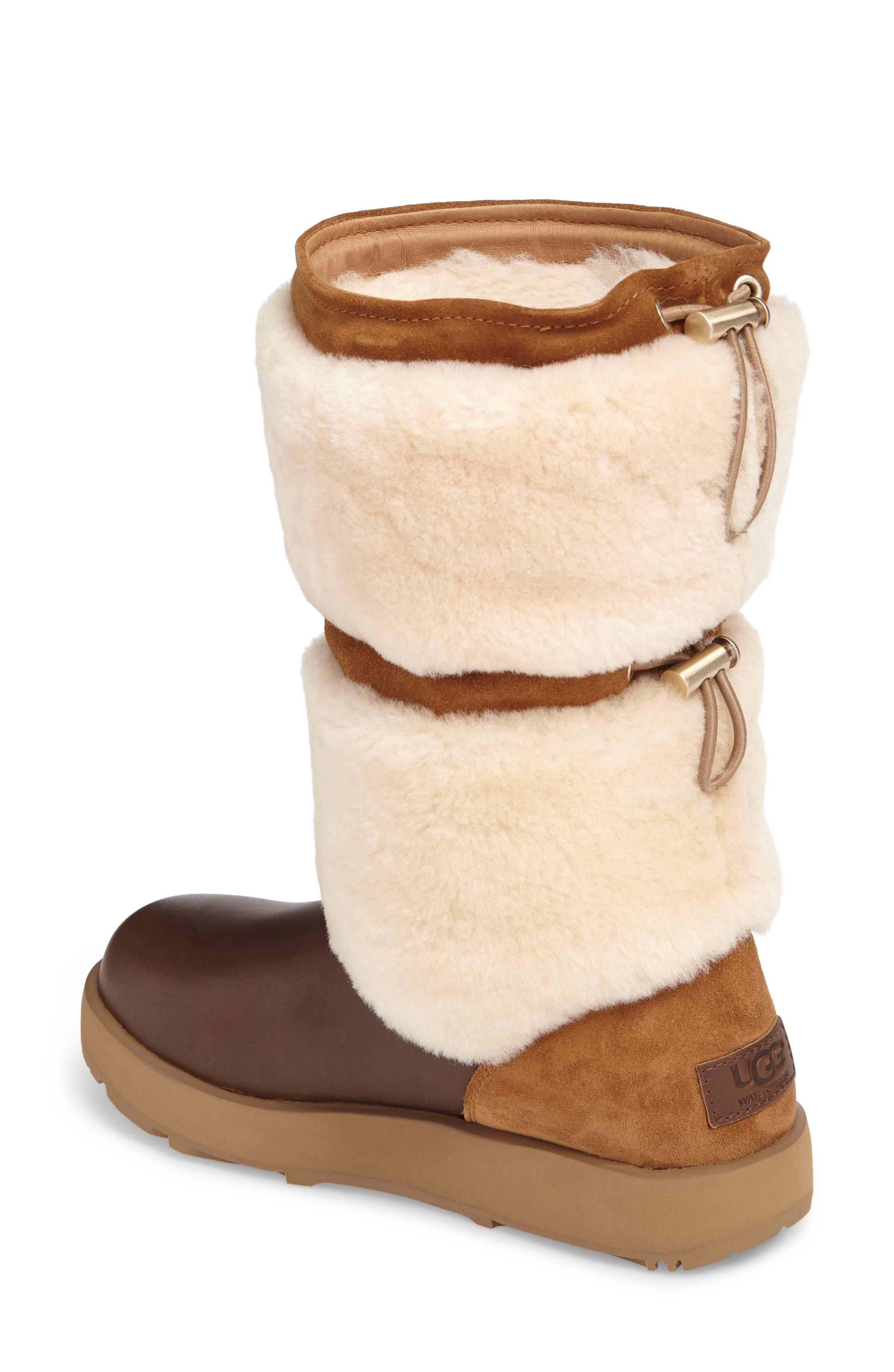 Reykir Waterproof Snow Boot,                             Alternate thumbnail 6, color,