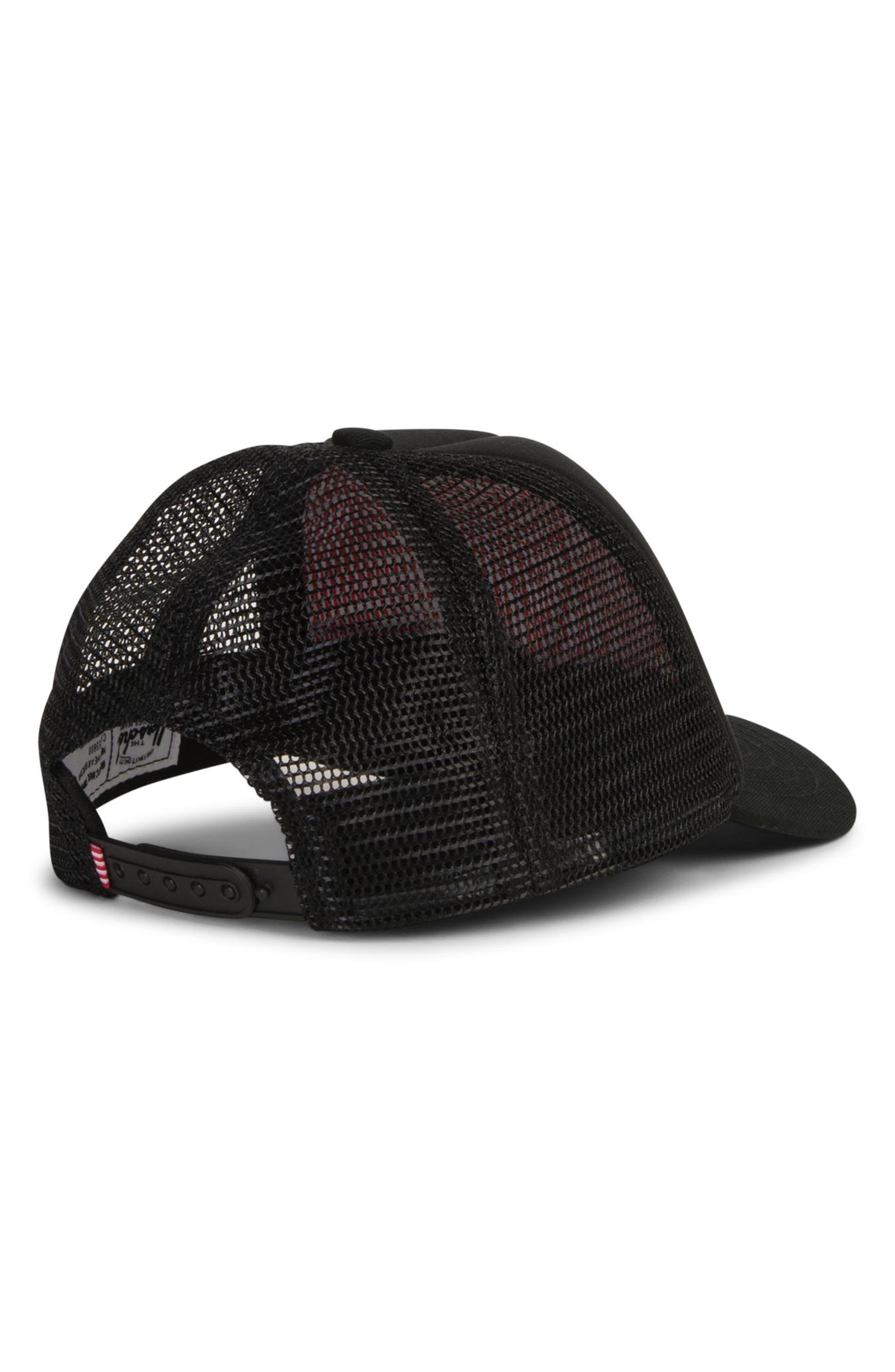 Sprout Whaler Mesh Hat,                             Alternate thumbnail 2, color,                             BLACK