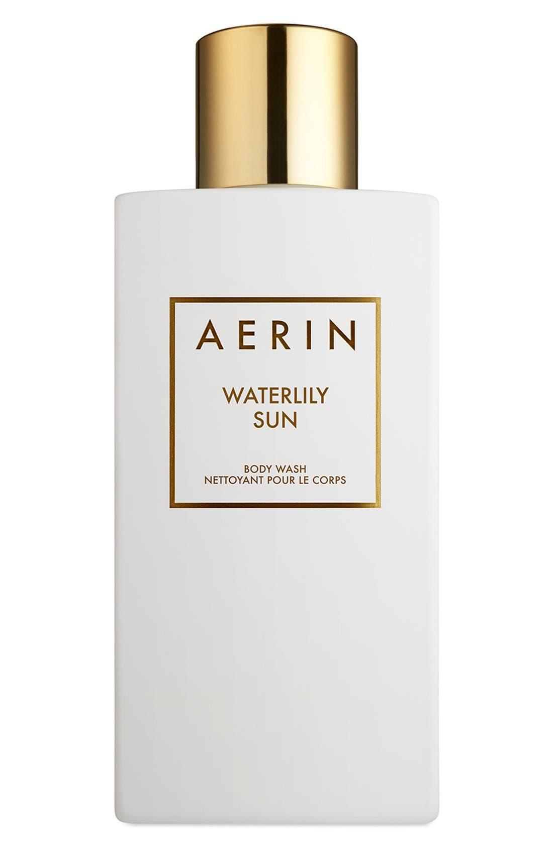 AERIN Beauty Waterlily Sun Body Wash,                             Main thumbnail 1, color,                             000
