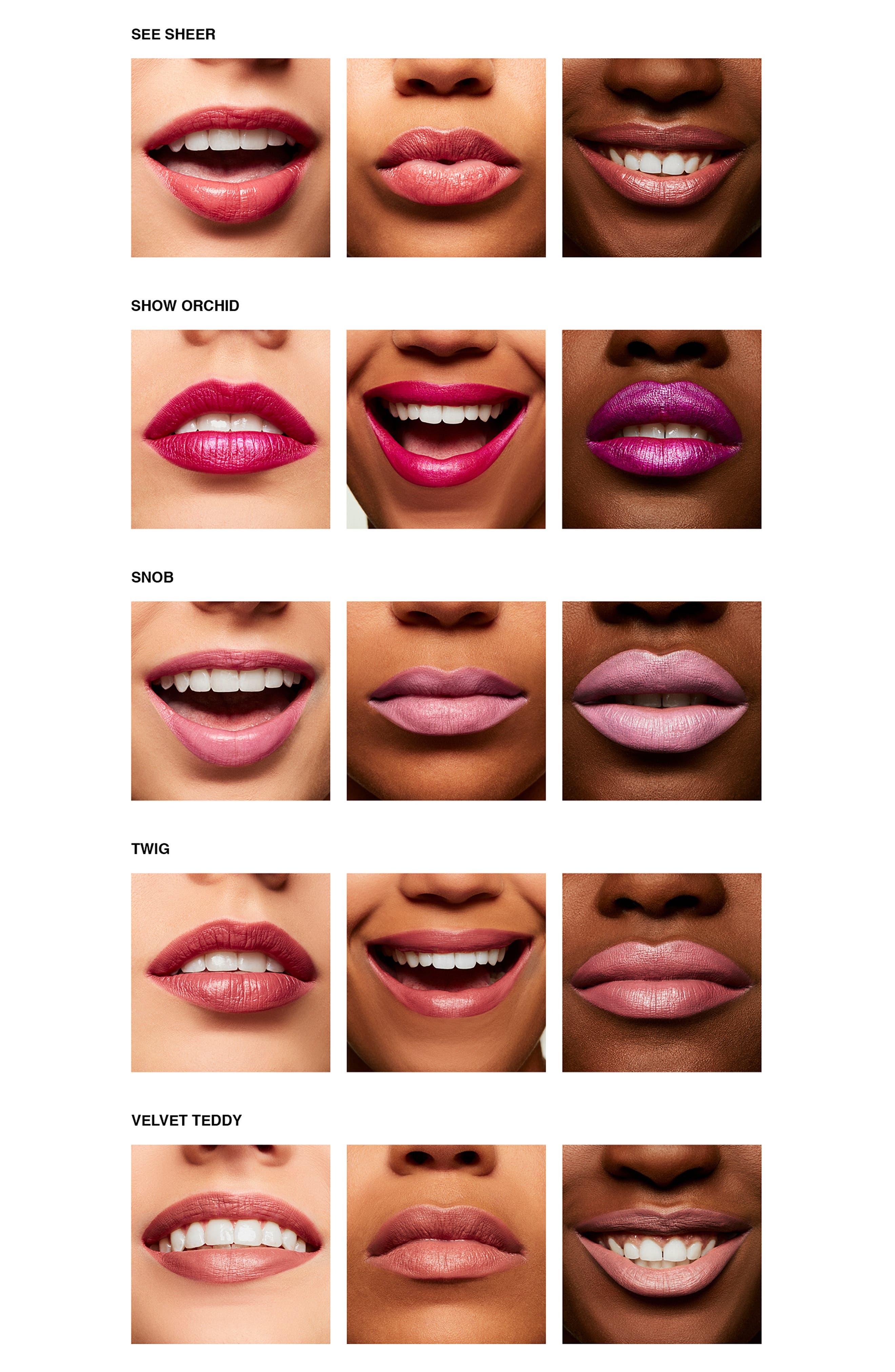 MAC Shiny Pretty Things Lip Kit,                             Alternate thumbnail 5, color,                             NO COLOR