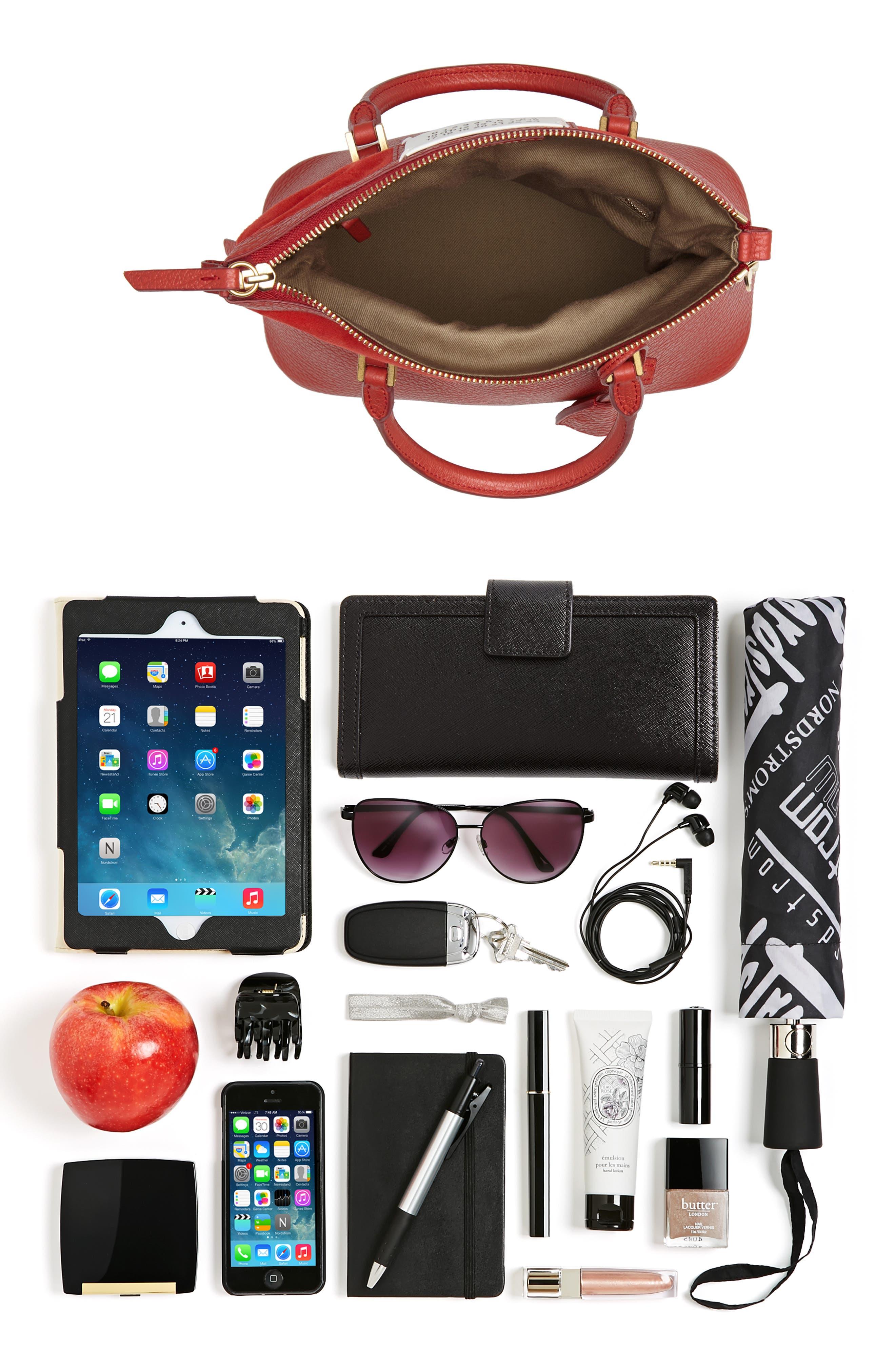 Small 5AC Calfskin Leather Handbag,                             Alternate thumbnail 8, color,                             600