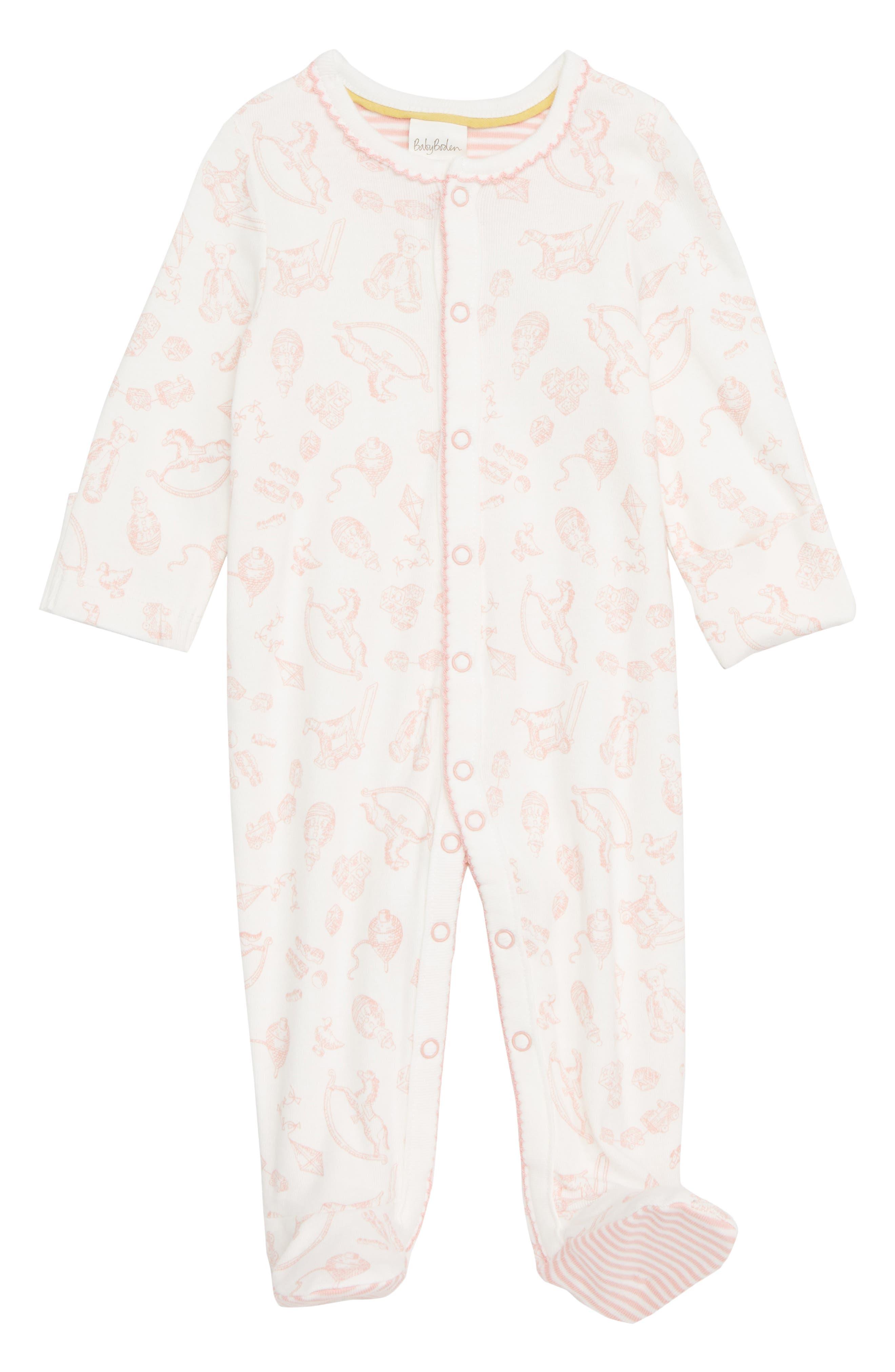 Organic Cotton One-Piece Pajamas,                         Main,                         color, 684