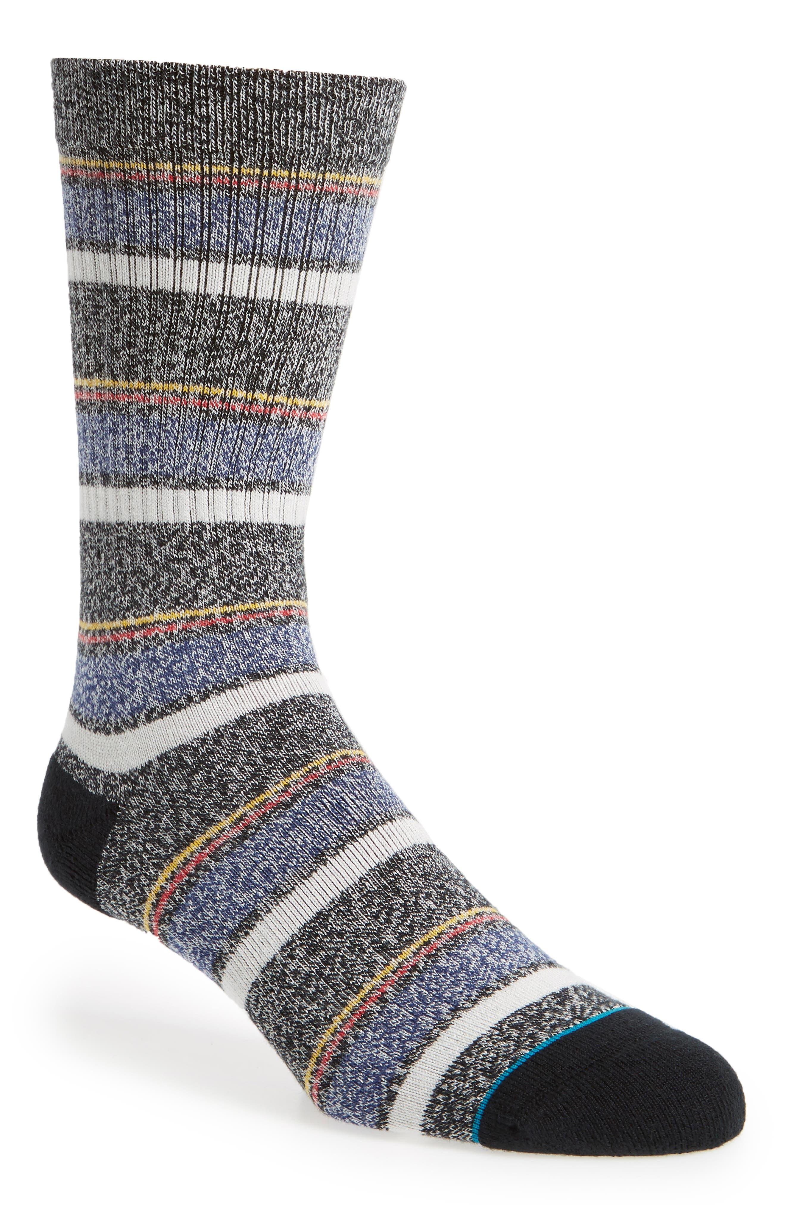 Keating Stripe Socks,                             Main thumbnail 1, color,                             001