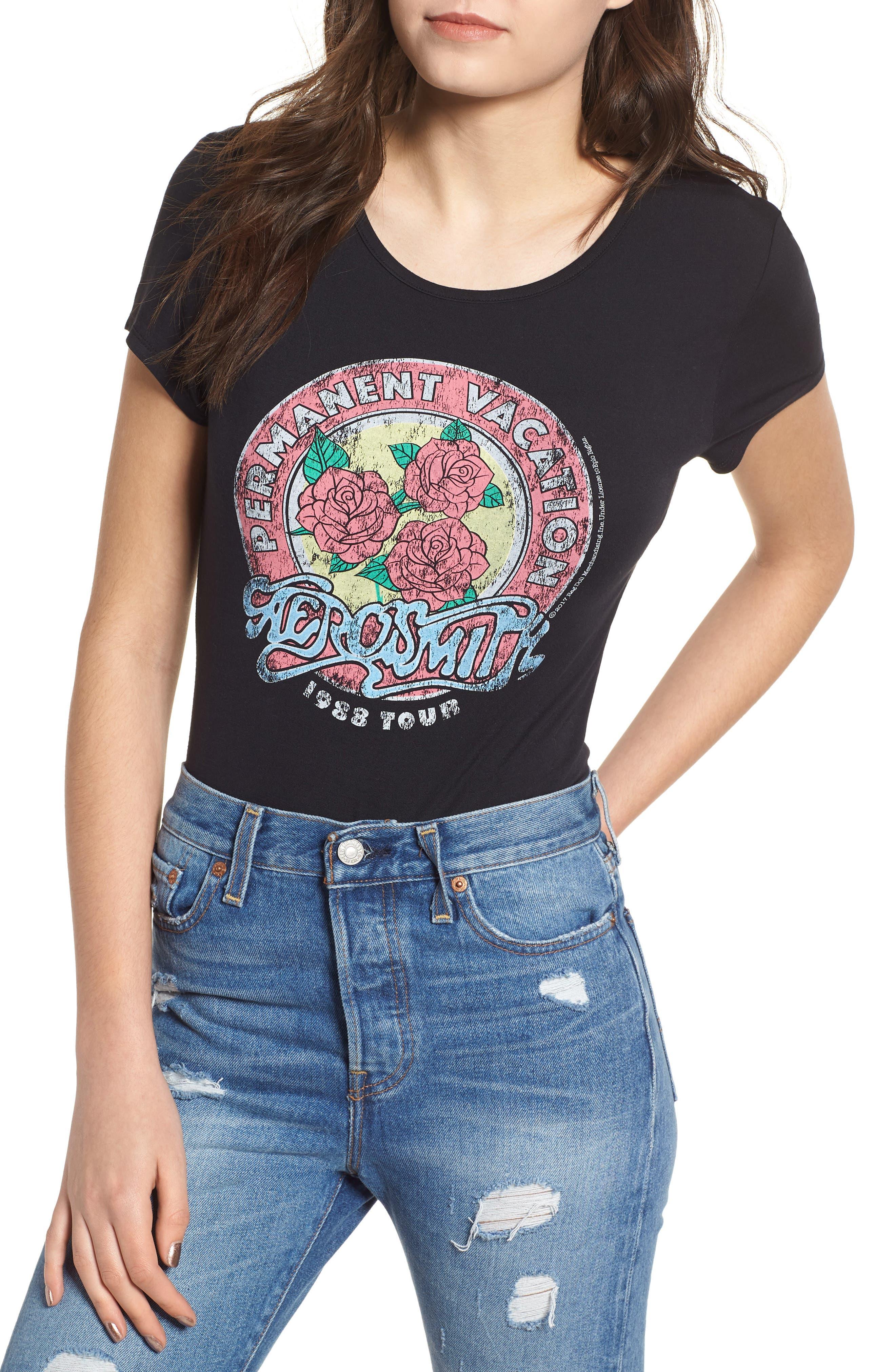 Aerosmith Bodysuit,                         Main,                         color, 001