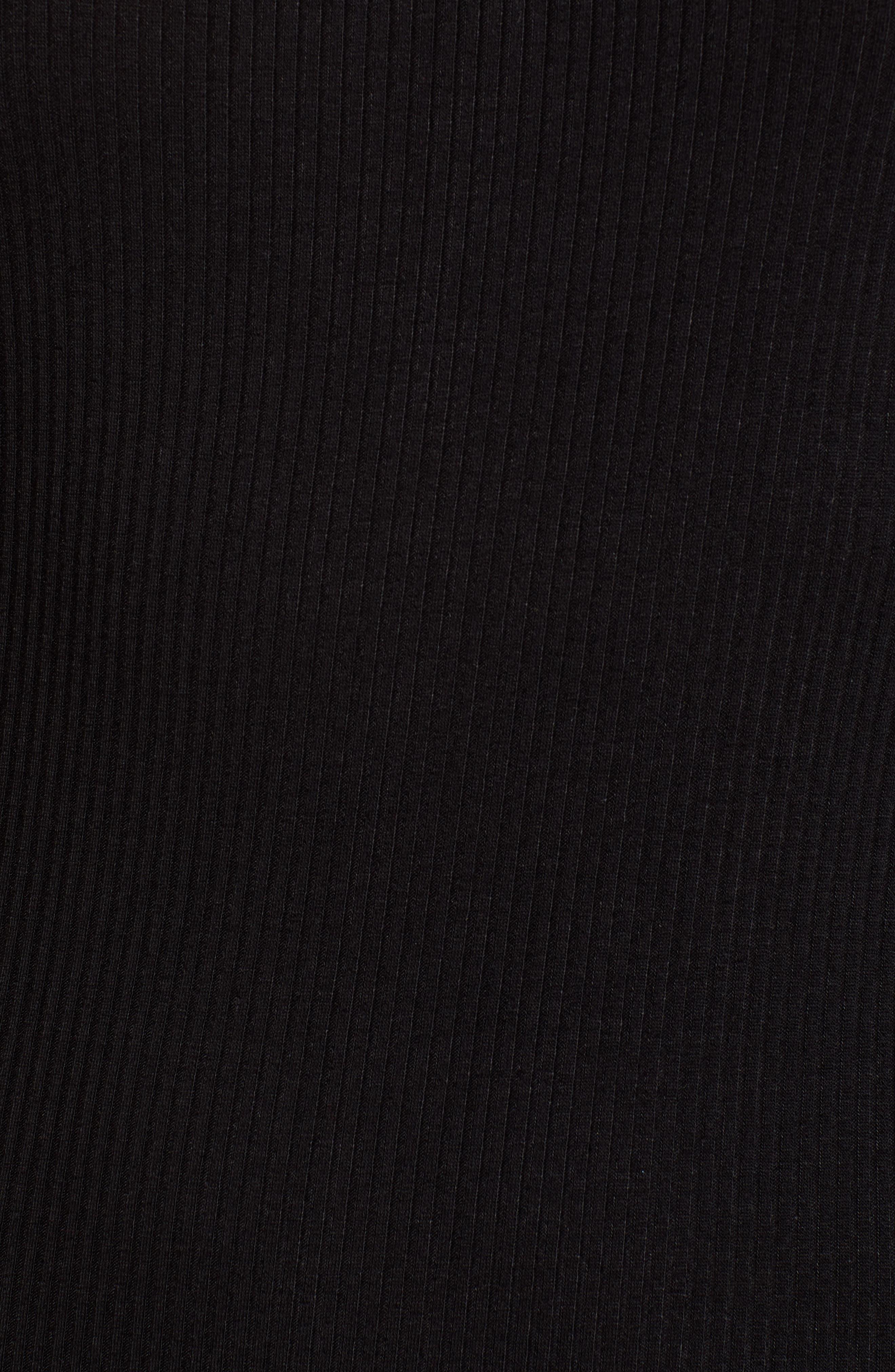 Ribbed Maxi Dress,                             Alternate thumbnail 6, color,