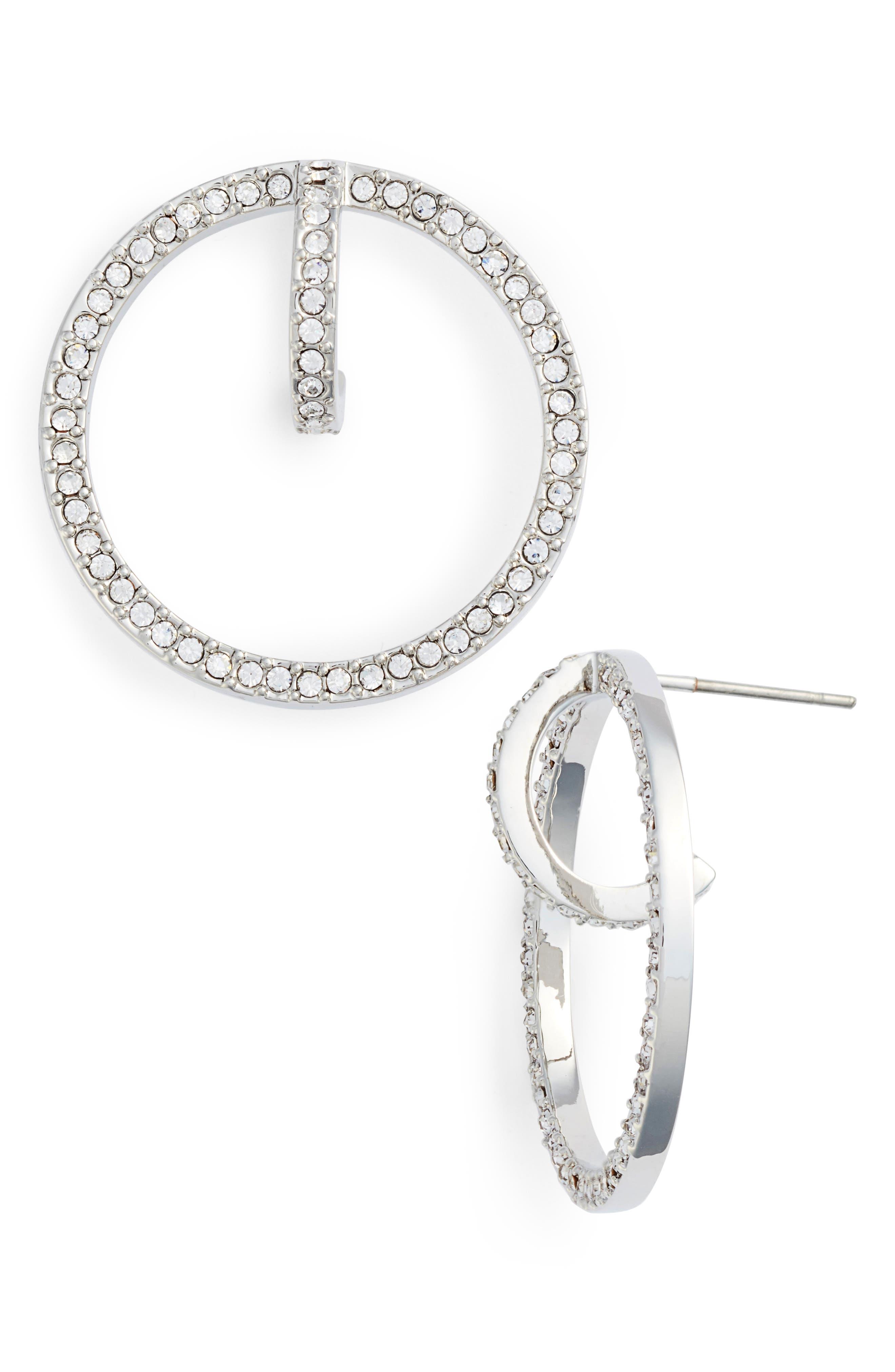 Orbital Hoop Earrings,                         Main,                         color, 040