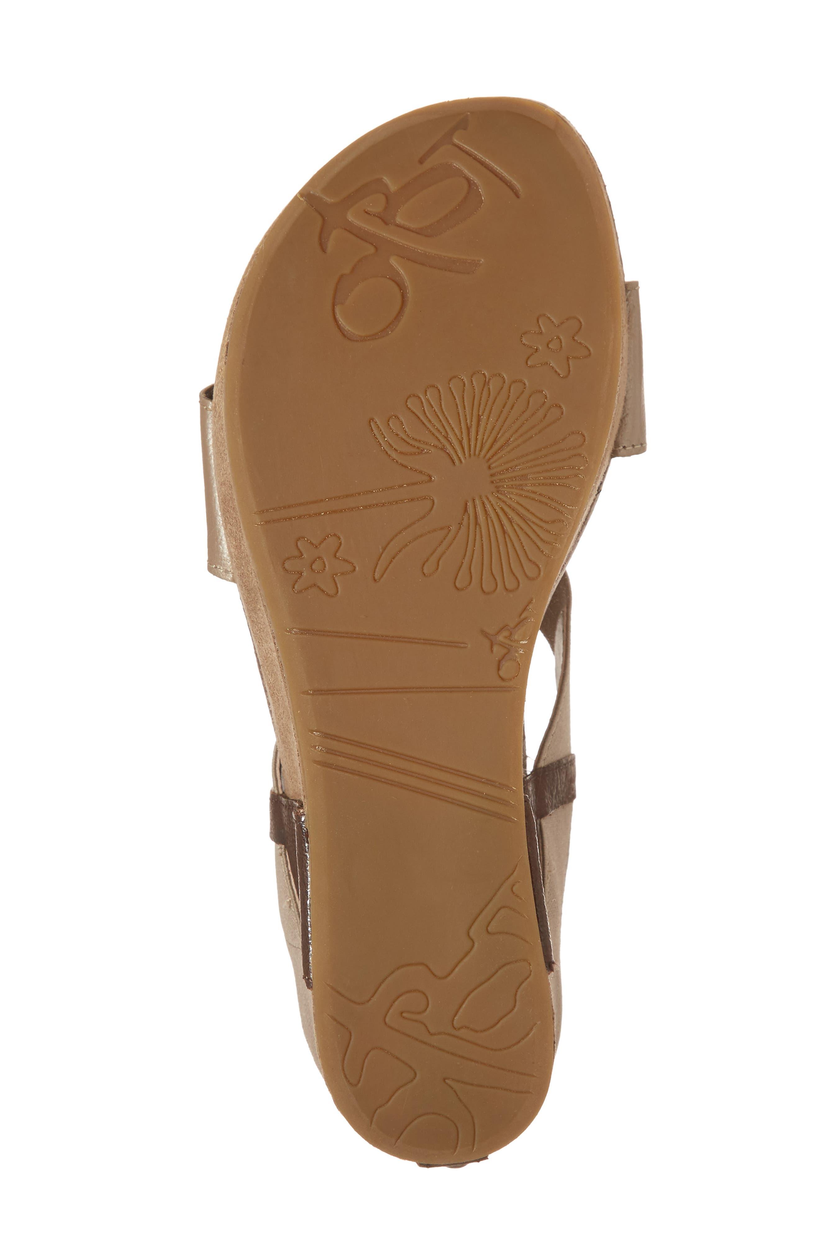 'Bushnell' Wedge Sandal,                             Alternate thumbnail 6, color,                             200