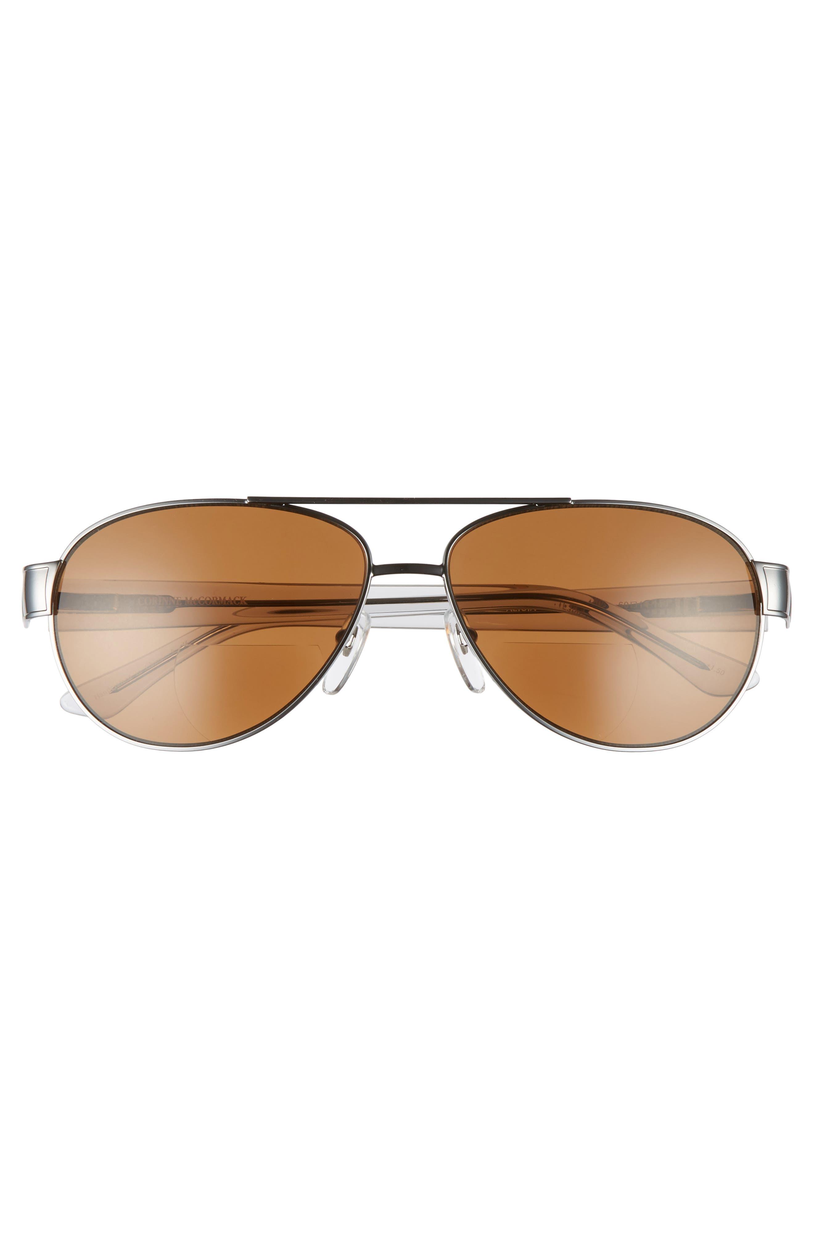 Alicia 60mm Optical Sunglasses,                             Alternate thumbnail 3, color,                             020