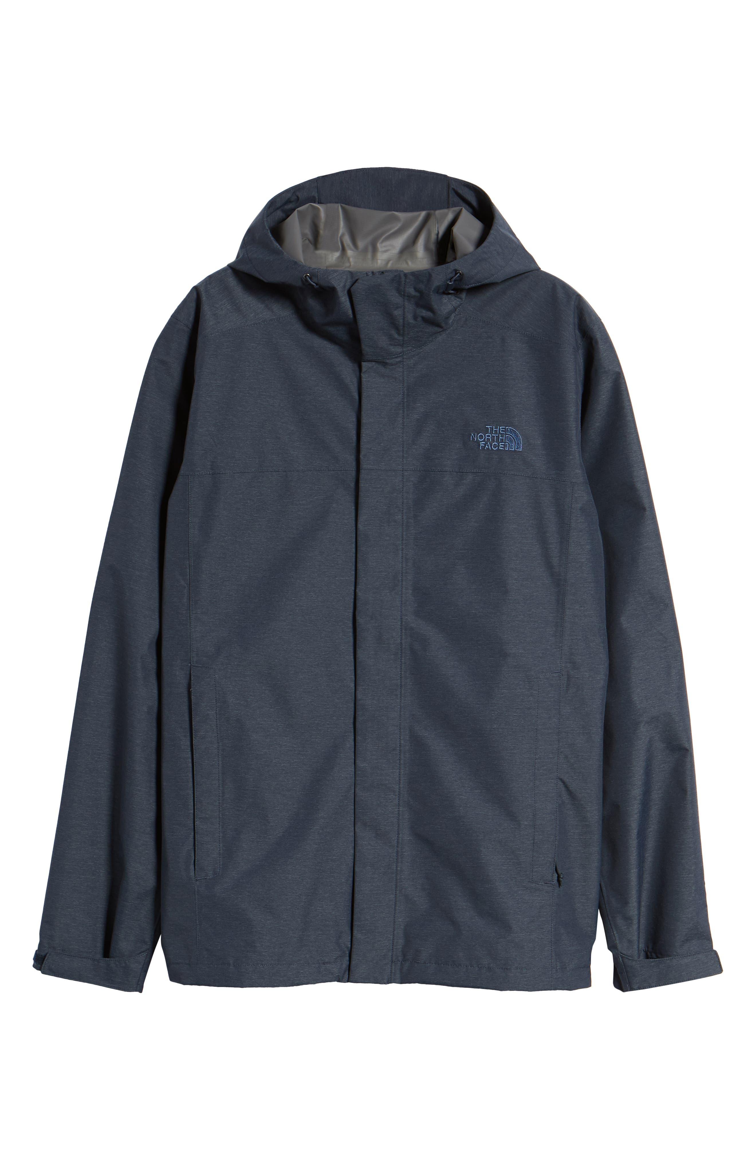 Venture 2 Waterproof Jacket,                             Alternate thumbnail 5, color,                             URBAN NAVY HEATHER