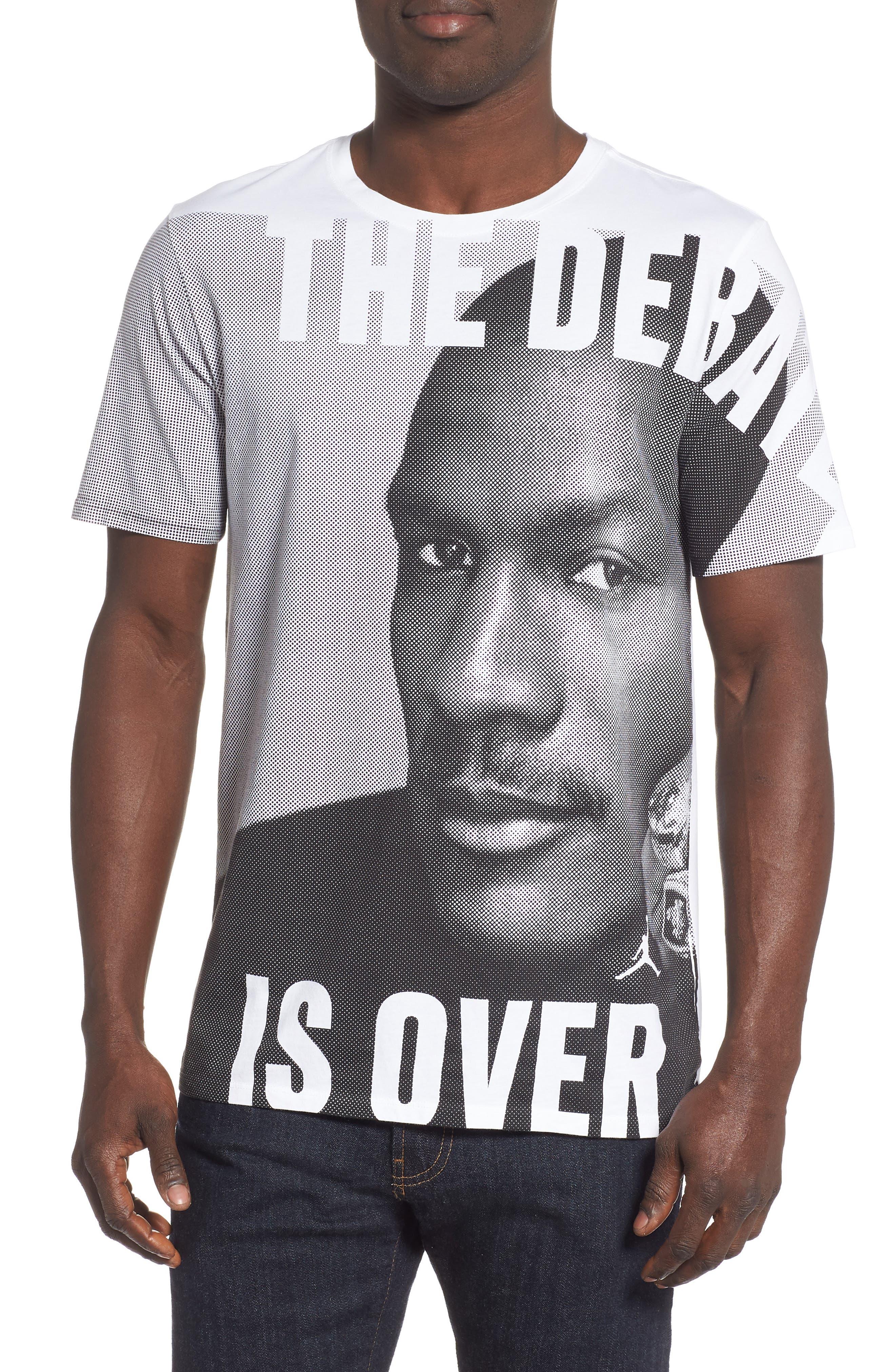 Nike Jordan Jsw Greatest Graphic T-Shirt White