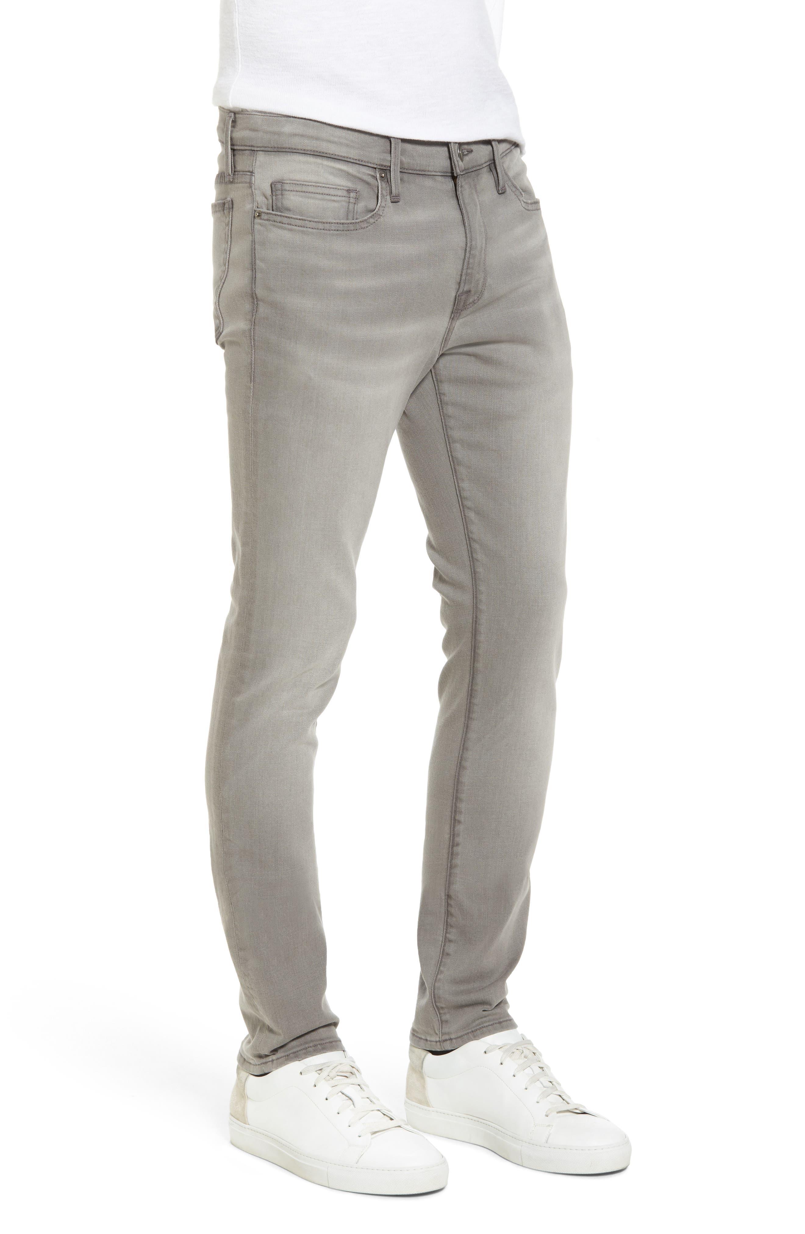 L'Homme Slim Fit Jeans,                             Alternate thumbnail 3, color,                             030
