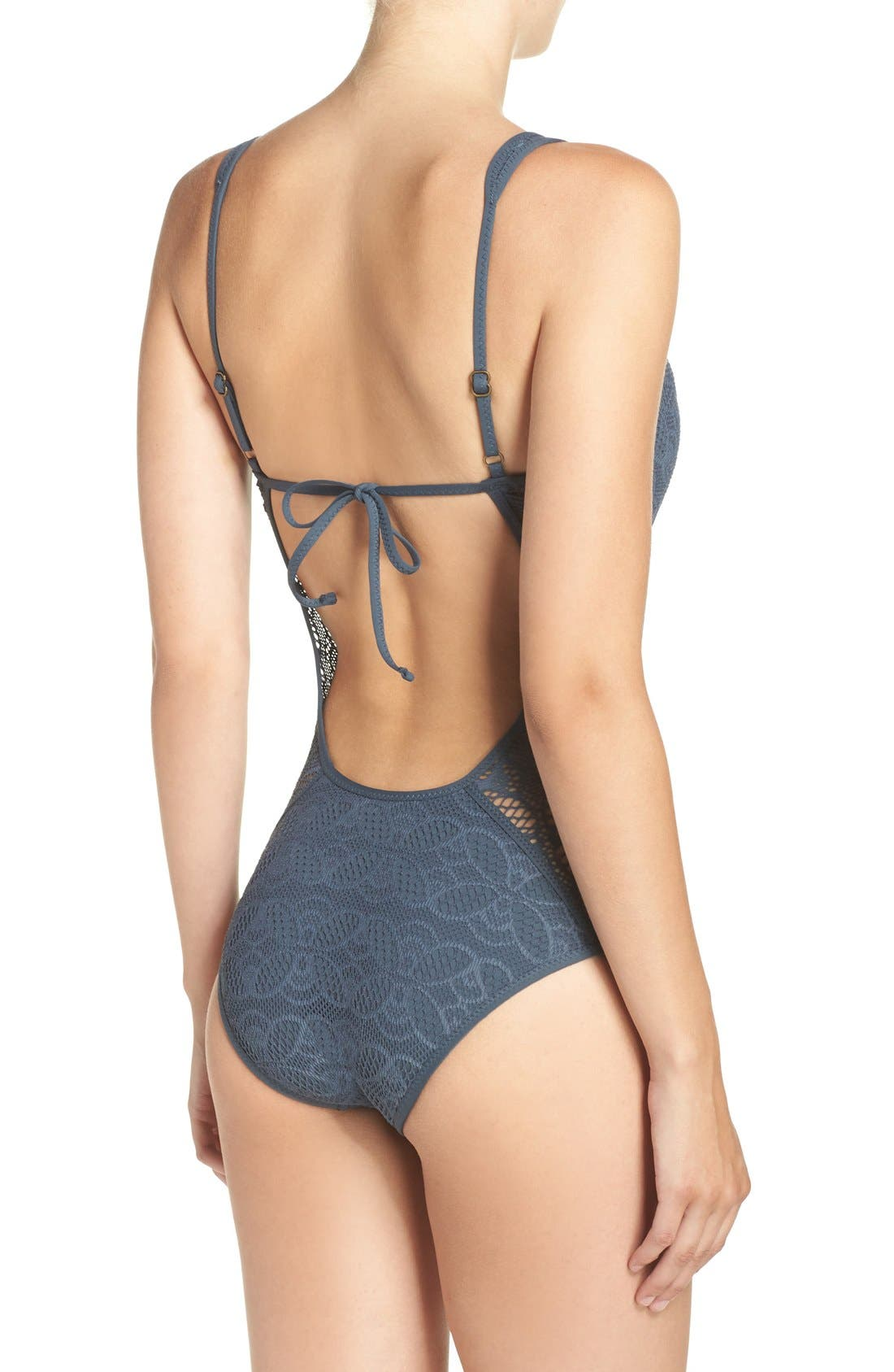 Color Play One-Piece Swimsuit,                             Alternate thumbnail 12, color,
