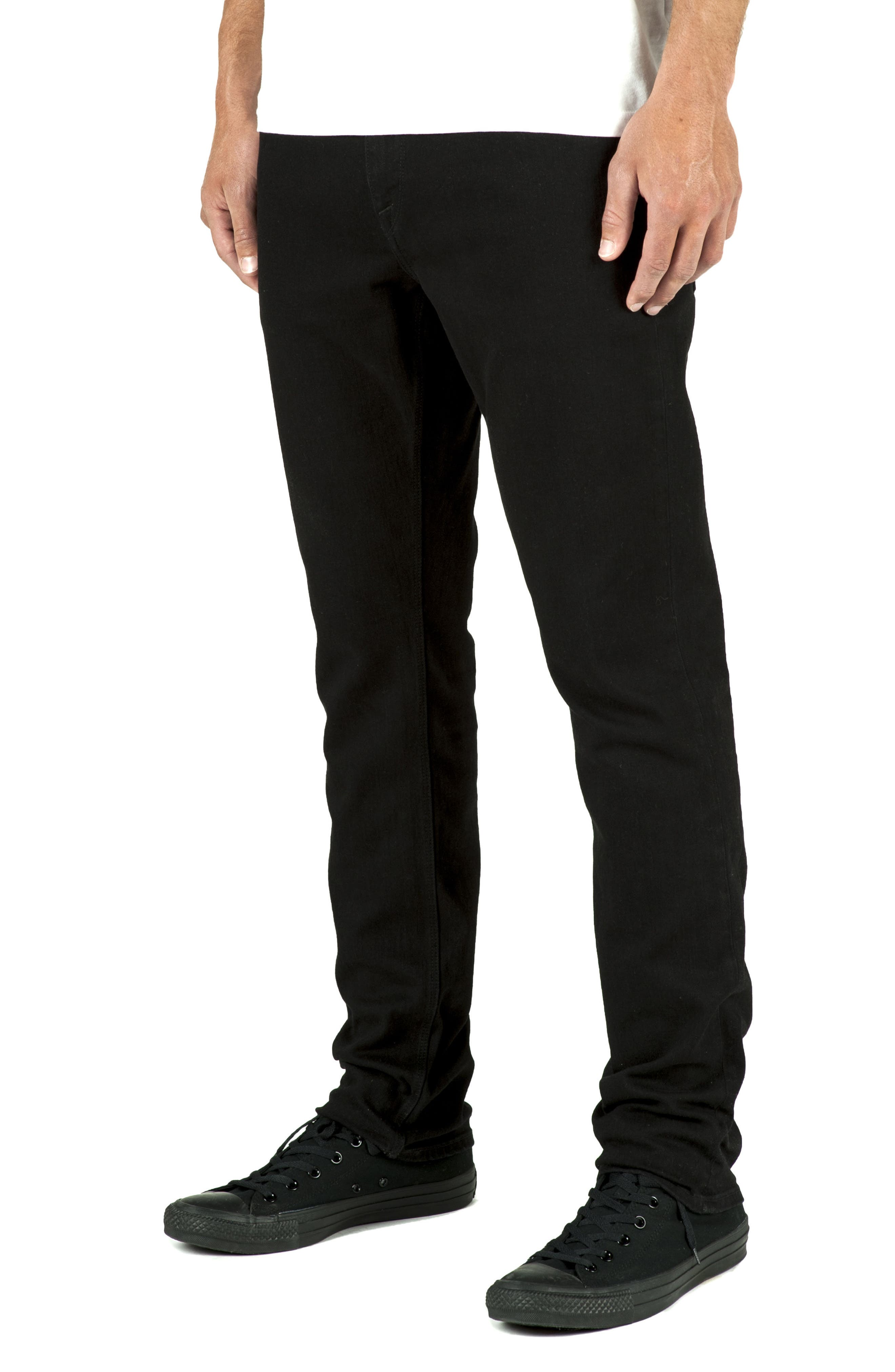 'Solver' Tapered Jeans,                             Alternate thumbnail 3, color,                             017