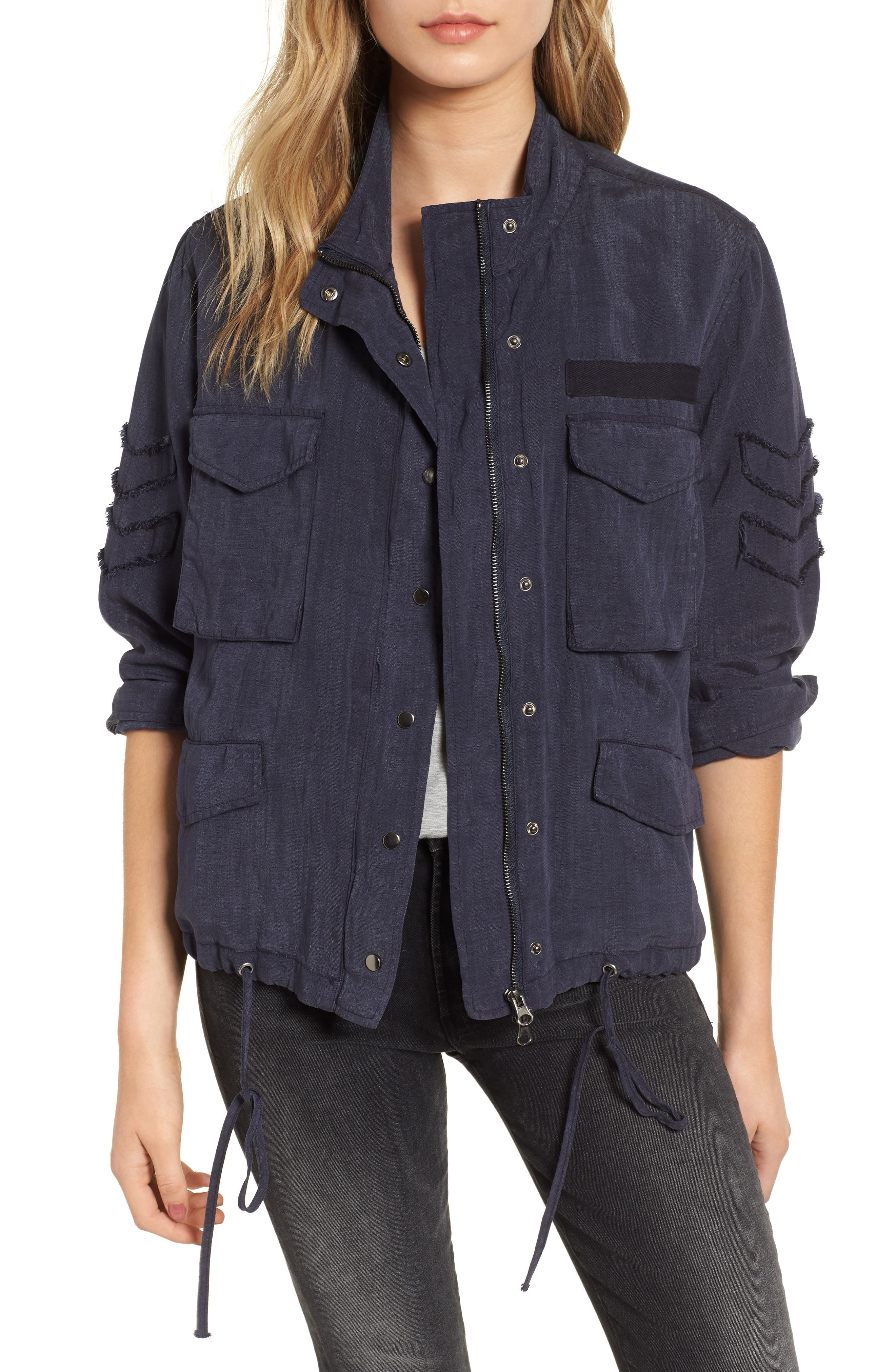 Halifax Drawstring Jacket,                         Main,                         color, 410