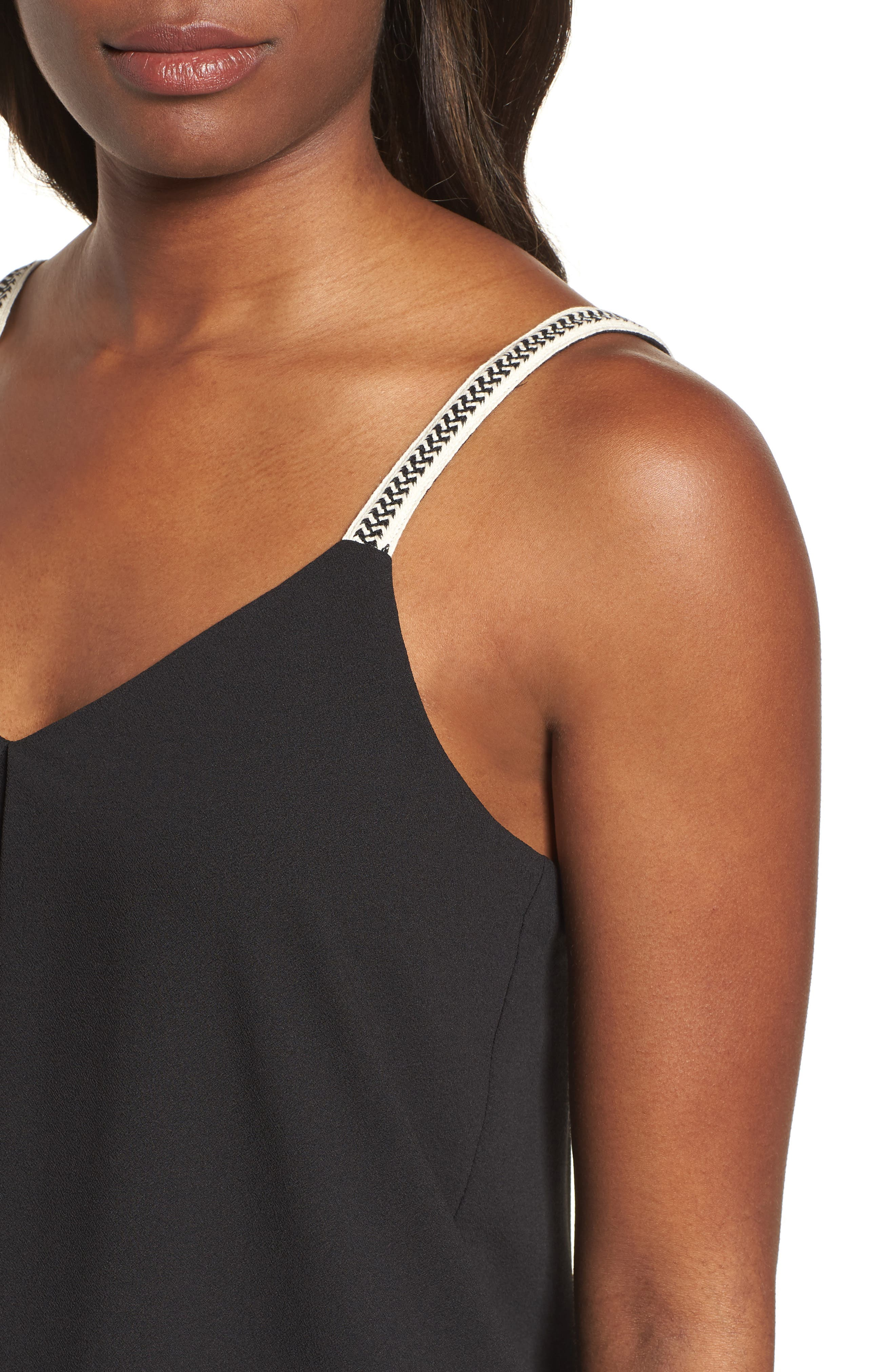 1.STATE,                             Embroidered Strap Camisole,                             Alternate thumbnail 4, color,                             006