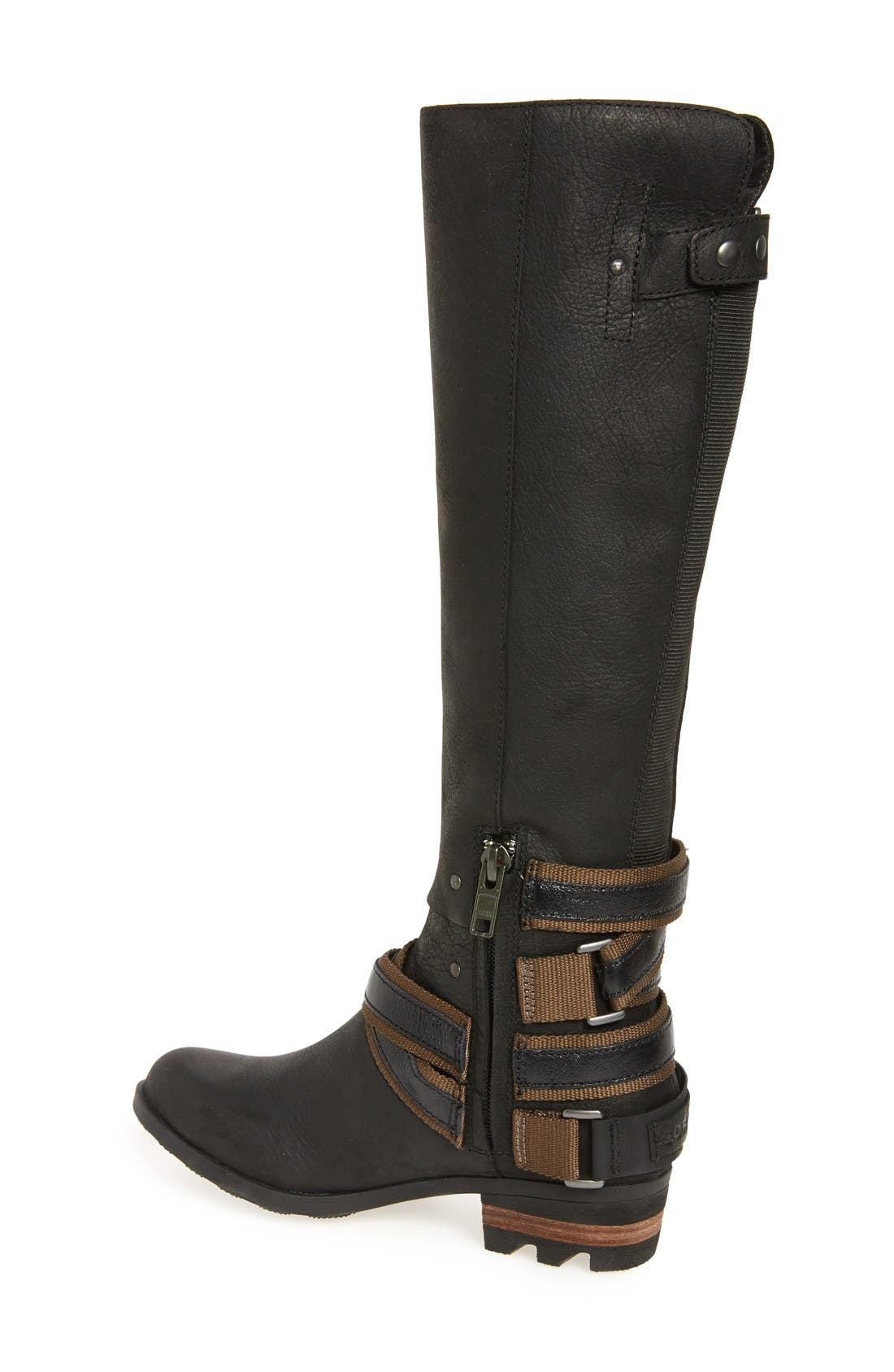 Lolla Water Resistant Tall Boot,                             Alternate thumbnail 2, color,                             010