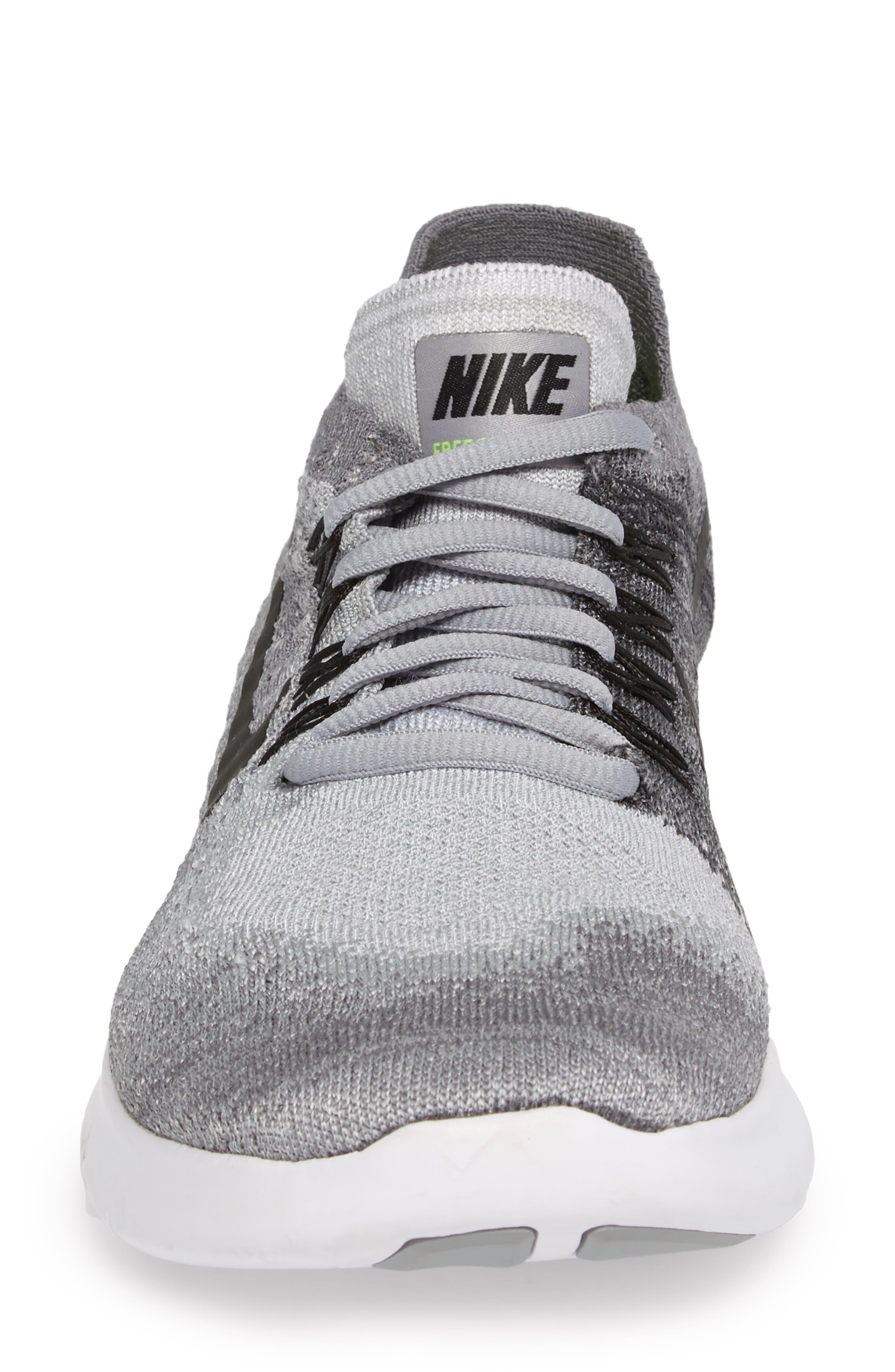 Free RN Flyknit 2 Running Shoe,                             Alternate thumbnail 4, color,                             020